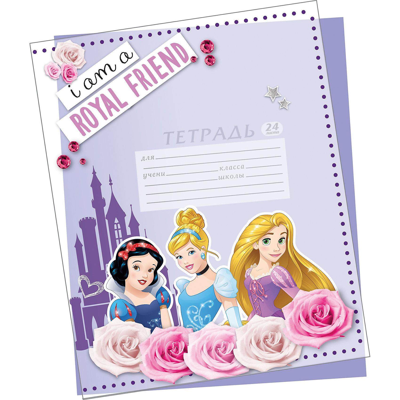 Обложки для тетрадей Принцессы Дисней (5 шт)