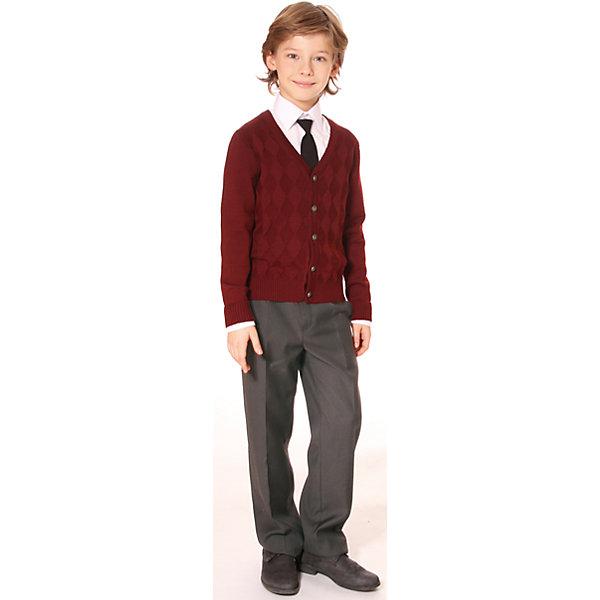 Брюки для мальчика СменаБрюки<br>Брюки для мальчика от российской марки  Смена.<br>Удобные классические брюки для мальчика с регулировкой ширины по талии.<br>Состав:<br>50%  шерсть, 50%  вискоза<br><br>Ширина мм: 215<br>Глубина мм: 88<br>Высота мм: 191<br>Вес г: 336<br>Цвет: серый<br>Возраст от месяцев: 132<br>Возраст до месяцев: 144<br>Пол: Мужской<br>Возраст: Детский<br>Размер: 152,134,122,128,140<br>SKU: 4177415