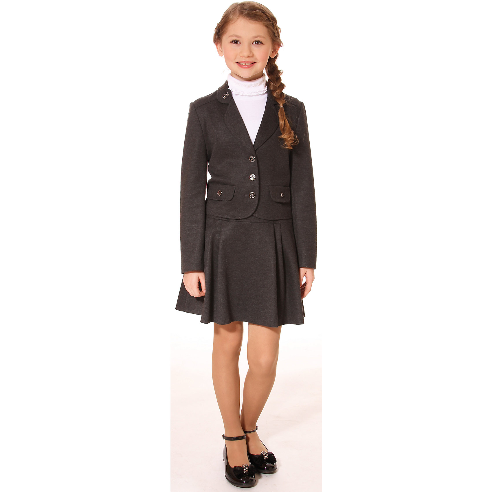 Смена Костюм для девочки: жакет и юбка для девочки Смена