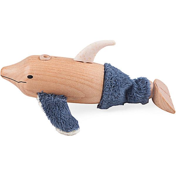 Дельфин, AnaMalzМир животных<br>Этот удивительный дельфин обязательно понравится детям! Игрушка выполнена из материалов разных фактур, что помогает развитию тактильных ощущений и мелкой моторики. Все игрушки AnaMalz (АнаМальц) раскрашиваются вручную с использованием безопасной для детей краски и клея без содержания вредных веществ. <br><br>Дополнительная информация:<br><br>- Материал: текстиль, дерево, резина.<br>- Размер: 5х5х12 см.<br><br>Дельфина, AnaMalz (АнаМальц), можно купить в нашем магазине.<br><br>Ширина мм: 120<br>Глубина мм: 50<br>Высота мм: 50<br>Вес г: 88<br>Возраст от месяцев: 36<br>Возраст до месяцев: 168<br>Пол: Унисекс<br>Возраст: Детский<br>SKU: 4177751
