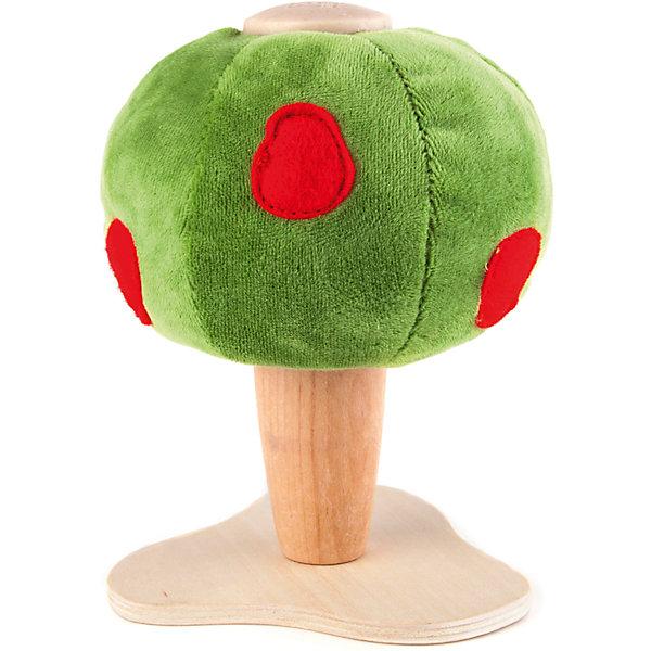 Яблочное дерево, AnaMalzМир животных<br>Характеристики товара:<br><br>• возраст: от 3 лет;<br>• размер игрушки: 11х11х16 см;<br>• материал: дерево, текстиль;<br>• размер упаковки: 18х12х6 см;<br>• страна бренда: Австралия.<br><br>Яблочное дерево от бренда AnaMalz приятно украсит комнату и станет отличной декорацией для игр ребёнка. Ствол игрушки изготовлен из экологически чистой древесины, а крона - из зелёного, приятного на ощупь текстиля. На кроне дерева яркая аппликация в виде яблок. Игрушка изготовлена из безопасных для детей материалов. Игра с деревянными игрушками развивает воображение, фантазию и мелкую моторику.<br><br>Яблочное дерево,  AnaMalz (АнаМалз) можно купить в нашем интернет-магазине.<br>Ширина мм: 110; Глубина мм: 110; Высота мм: 160; Вес г: 125; Возраст от месяцев: 36; Возраст до месяцев: 168; Пол: Унисекс; Возраст: Детский; SKU: 4177752;