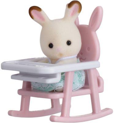 Epoch Traumwiesen Набор Младенец в пластиковом сундучке (кролик в детском кресле), Sylvanian Families