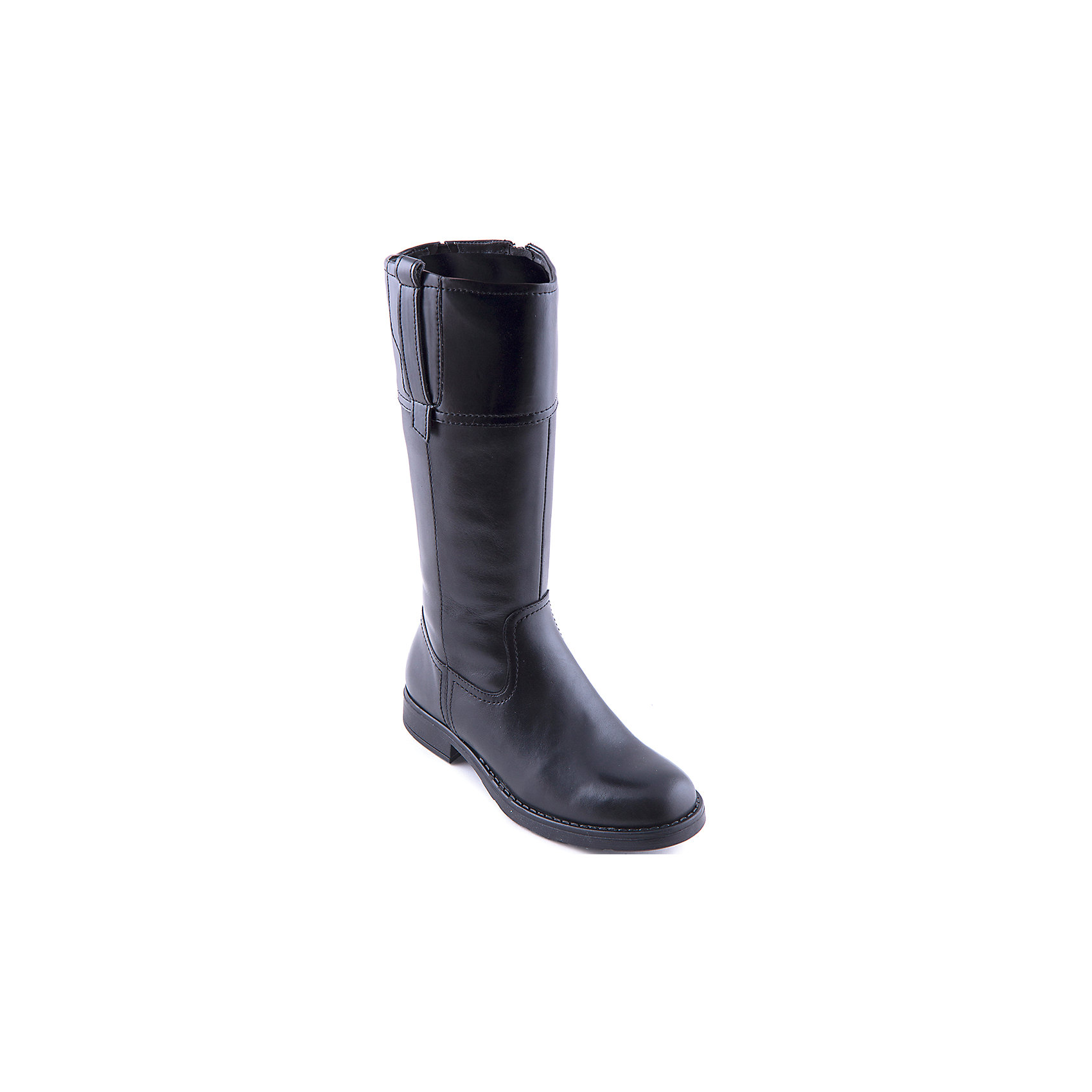 Сапоги для девочки GEOXПолусапожки для девочки от популярной марки GEOX.<br><br>Черные стильные полусапожки - стильная и удобная обувь для межсезонья.<br>Производитель обуви GEOX разработал специальную дышащую подошву, которая не пропускает влагу внутрь, а также высокотехнологичную стельку.<br><br>Отличительные особенности модели:<br><br>- цвет: черный;<br>- стильный дизайн;<br>- гибкая водоотталкивающая подошва с дышащей мембраной;<br>- мягкий и легкий верх;<br>- защита пятки и пальцев;<br>- эргономичная форма;<br>- удобная застежка-молния сбоку;<br>- комфортное облегание;<br>- ударопрочная антибактериальная стелька;<br>- верх обуви и подкладка сделаны без использования хрома.<br><br>Дополнительная информация:<br><br>- Температурный режим: от +5° С  до 20° С.<br><br>- Состав:<br><br>материал верха: кожа<br>материал подкладки: байка<br>подошва: полимер<br>Полусапожки для девочки GEOX (Геокс) можно купить в нашем магазине.<br><br>Ширина мм: 257<br>Глубина мм: 180<br>Высота мм: 130<br>Вес г: 420<br>Цвет: черный<br>Возраст от месяцев: 168<br>Возраст до месяцев: 192<br>Пол: Женский<br>Возраст: Детский<br>Размер: 41,36,38,33,34,39,40,37,35<br>SKU: 4178941