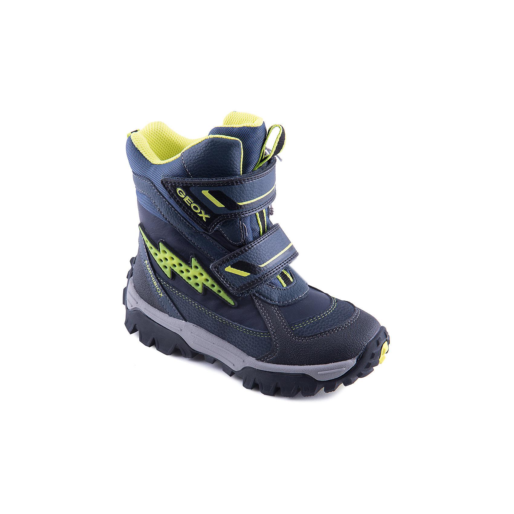 GEOX Полусапожки для мальчика GEOX geox ботинки для мальчика geox