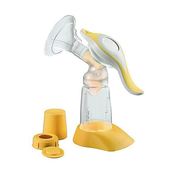 Молокоотсос ручной Harmony MedelaМолокоотсосы и аксессуары<br>Молокоотсос ручной Harmony Medela (Хармони Медела) – это механический молокоотсос на основе двухфазной технологии сцеживания.<br>С ручным молокоотсосом Harmony Medela (Хармони Медела) малыш сможет кормиться материнским молоком даже в Ваше отсутствие. Этот молокоотсос идеален для мам, изредка сцеживающих молоко и не желающих утратить тесный контакт со своим малышом. Молокоотсос основан на технологии двухфазного сцеживания: фаза стимуляции переходит в фазу сцеживания. Молокоотсос имеет эргономичную шарнирную рукоятку, позволяющую выбрать наиболее комфортное положение руки, поэтому при сцеживании требуется значительно меньше усилий. Он имитирует естественный процесс сосания груди, тем самым стимулируя выработку молока и давая возможность эффективно его сцеживать. Комплектуется мягкой массирующей воронкой SoftFit. Бутылочка молокоотсоса изготавливаются из безопасного медицинского полипропилена, который не вступает в химическую реакцию с молоком и не выделяет вредных веществ. Молокоотсос Harmony Medela (Хармони Медела) состоит из меньшего числа деталей, по сравнению с другими ручными молокоотсосами, легко собирается, разбирается и моется.<br><br>Дополнительная информация:<br><br>- Комплектация ручного молокоотсоса: воронка PersonalFit 24мм; двухкомпонентный коннектор; головка клапана; 1 мембрана клапана (1 запасная мембрана клапана); контейнер (бутылочка) для сбора грудного молока 150 мл; рукоятка; диафрагма; стержень с О-образным кольцом; крышка; диск-заглушка для крышки; колпачок; подставка под контейнер (бутылочку)<br>- Материал: пластик, силикон, полипропилен<br>- Размер упаковки: 270 х 80 х 177 мм.<br>- Вес: 410 гр.<br><br>Молокоотсос ручной Harmony Medela (Хармони Медела) можно купить в нашем интернет-магазине.<br>Ширина мм: 270; Глубина мм: 80; Высота мм: 177; Вес г: 410; Возраст от месяцев: 0; Возраст до месяцев: 12; Пол: Унисекс; Возраст: Детский; SKU: 4181793;