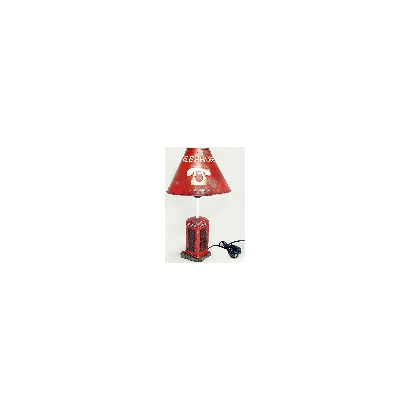 Настольный светильник «Английская телефонная будка» 25*25*31,5 см