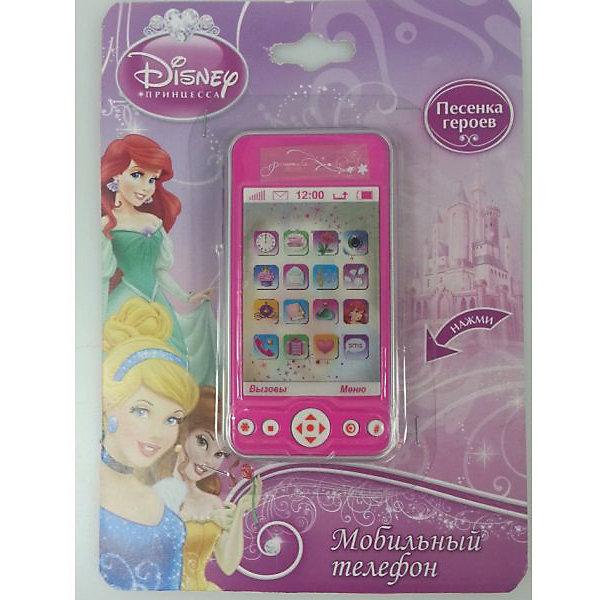 Телефон с  3d экраном Принцессы, со звуком и песней героев, Играем вместеИнтерактивные игрушки для малышей<br>Телефон с  3d экраном Принцессы, со звуком и песней героев, Играем вместе – игрушка привлечет внимание девочки и не позволит ее скучать.<br>Детский мобильный телефон с  3d экраном Принцессы очень похож на настоящий сотовый телефон, что обязательно понравится вашей девочке. Мобильный телефон в форме айфона оснащен звуковыми эффектами, имеет красочный дизайн в стиле Диснеевских принцесс и проигрывает песенку героинь. Изготовлен из нетоксичной пластмассы.<br><br>Дополнительная информация:<br><br>- Материал: пластмасса<br>- Батарейки: 2 типа AG13 (входят в комплект)<br>- Размер упаковки: 13,5 х 22 см.<br><br>Телефон с  3d экраном Принцессы, со звуком и песней героев, Играем вместе можно купить в нашем интернет-магазине.<br><br>Ширина мм: 580<br>Глубина мм: 460<br>Высота мм: 360<br>Вес г: 70<br>Возраст от месяцев: 36<br>Возраст до месяцев: 72<br>Пол: Женский<br>Возраст: Детский<br>SKU: 4185305