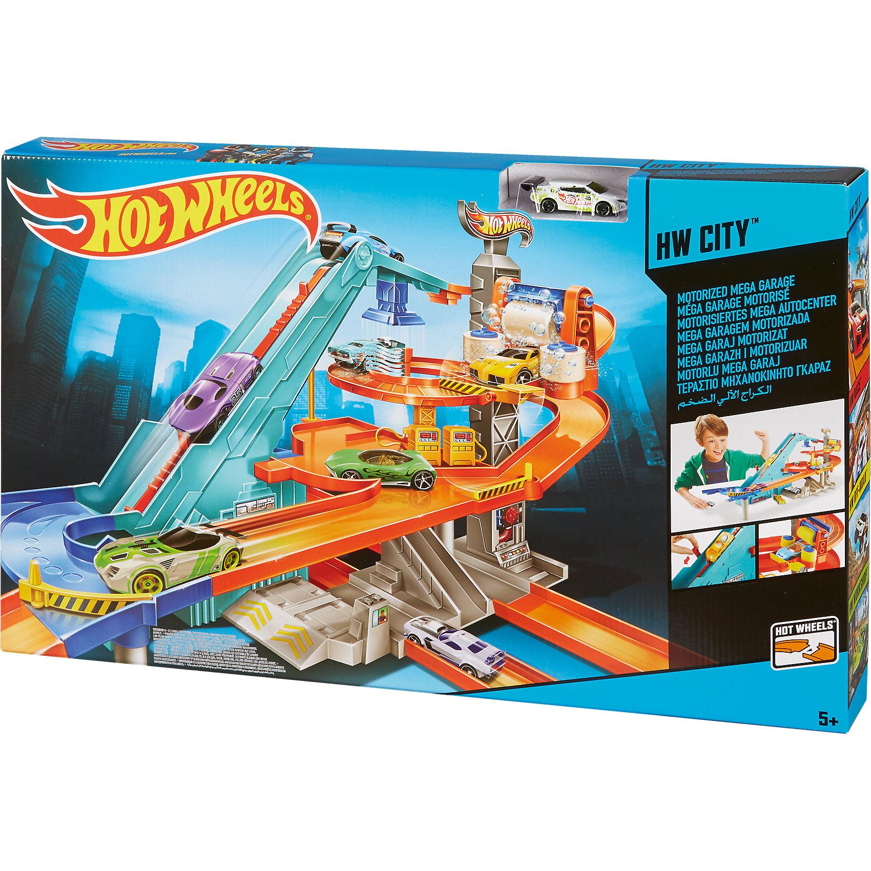 Игровой набор Мото гараж, Hot Wheels