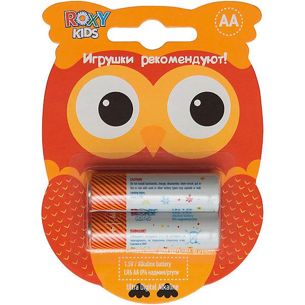 Батарейки для игрушек, тип АА, 2 шт., Roxy-kidsБатарейки<br>СОВА - Alkaline Battery LR - щелочные (алкалиновые) батарейки. <br>Батарейки ROXY-KIDS - идеальное соотношение цены и продолжительности заряда для игрушек! Батарейки ROXY-KIDS - минимальная стоимость одного часа работы!<br><br>Дополнительная информация:<br><br>Тип батареек: АА<br>В комплекте 2 шт.<br>В составе 0% ртути и кадмия. <br>Системы менеджмента качества и экологического менеджмента подтверждена в Нидерландах.<br><br>Батарейки, тип АА, 1,5В, 2 шт., Roxy-kids можно купить в нашем магазине.<br><br>Ширина мм: 110<br>Глубина мм: 80<br>Высота мм: 10<br>Вес г: 40<br>Возраст от месяцев: 192<br>Возраст до месяцев: 1188<br>Пол: Унисекс<br>Возраст: Детский<br>SKU: 4188900