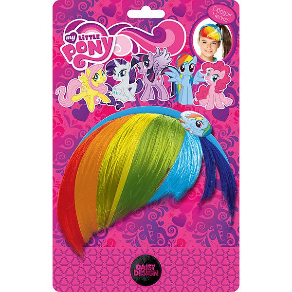 Ободок-челка Радуга Дэш, My Little PonyИгрушки<br>Оригинальный Ободок-челка Радуга Дэш, My Little Pony, станет приятным сюрпризом для маленькой модницы, особенно если она является поклонницей популярного мультсериала о волшебных пони (Мой Маленький Пони). Стильный аксессуар выглядит как разноцветная челка пони Радуги Дэш, героини мультфильма, и крепится к ободку для волос. Яркое украшение для прически идеально подойдет для детской костюмной вечеринки или карнавала. Аксессуар изготовлен из экологически чистых материалов и полностью безопасен для ребенка.<br><br>Дополнительная информация:<br><br>- Материал: текстиль, пластик.<br>- Размер упаковки: 16 х 2 х 25 см. <br>- Вес: 90 гр.<br><br>Ободок-челку Радуга Дэш, My Little Pony, можно купить в нашем интернет-магазине.<br>Ширина мм: 160; Глубина мм: 70; Высота мм: 30; Вес г: 70; Возраст от месяцев: 36; Возраст до месяцев: 120; Пол: Женский; Возраст: Детский; SKU: 4189962;