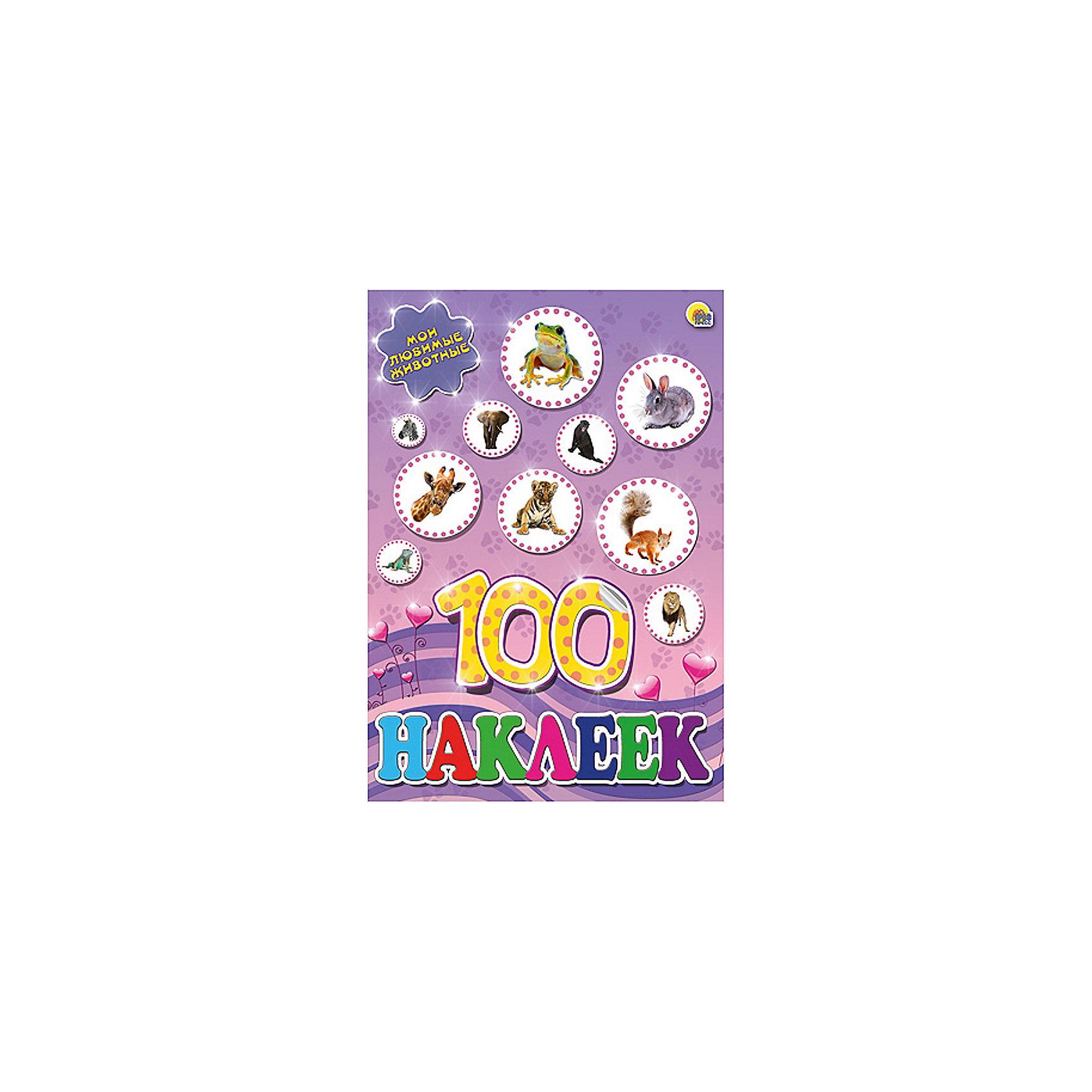 Альбом 100 наклеек. Любимые животныеАльбом 100 наклеек. Любимые животные станет отличным подарком для Вашего ребенка и познакомит его с многообразием животного мира. В альбоме содержится целых 100 красочных наклеек с изображениями очаровательных диких и домашних животных. Яркими наклейками<br>можно украсить рисунки, тетрадки, мебель или игрушки. <br><br>Дополнительная информация:<br><br>- Серия: 100 наклеек.<br>- Обложка: мягкая.<br>- Иллюстрации: цветные.<br>- Объем: 4 стр.<br>- Размер: 20 х 0,2 х 29,5 см.<br>- Вес: 66 гр.<br><br>Альбом 100 наклеек. Любимые животные, Проф-Пресс, можно купить в нашем интернет-магазине.<br><br>Ширина мм: 200<br>Глубина мм: 2<br>Высота мм: 295<br>Вес г: 660<br>Возраст от месяцев: 24<br>Возраст до месяцев: 96<br>Пол: Унисекс<br>Возраст: Детский<br>SKU: 4190041