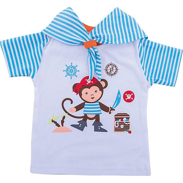 Футболка для мальчика KotMarKotФутболки, топы<br>Характеристики товара:<br><br>• цвет: голубой<br>• состав ткани: 100% хлопок<br>• сезон: лето<br>• особенности модели: с капюшоном<br>• короткие рукава<br>• страна бренда: Россия<br>• комфорт и качество<br><br>Детская футболка с капюшоном легко надевается благодаря эластичному материалу. Футболка для ребенка стильно смотрится. Детская футболка дополнена оригинальным капюшоном. Детские товары от бренда KotMarKot уже завоевали любовь потребителей благодаря высокому качеству и доступным ценам. <br><br>Футболку KotMarKot (КотМарКот) для мальчика можно купить в нашем интернет-магазине.<br>Ширина мм: 199; Глубина мм: 10; Высота мм: 161; Вес г: 151; Цвет: голубой; Возраст от месяцев: 3; Возраст до месяцев: 6; Пол: Мужской; Возраст: Детский; Размер: 68,92,80,86,74,62; SKU: 4195215;