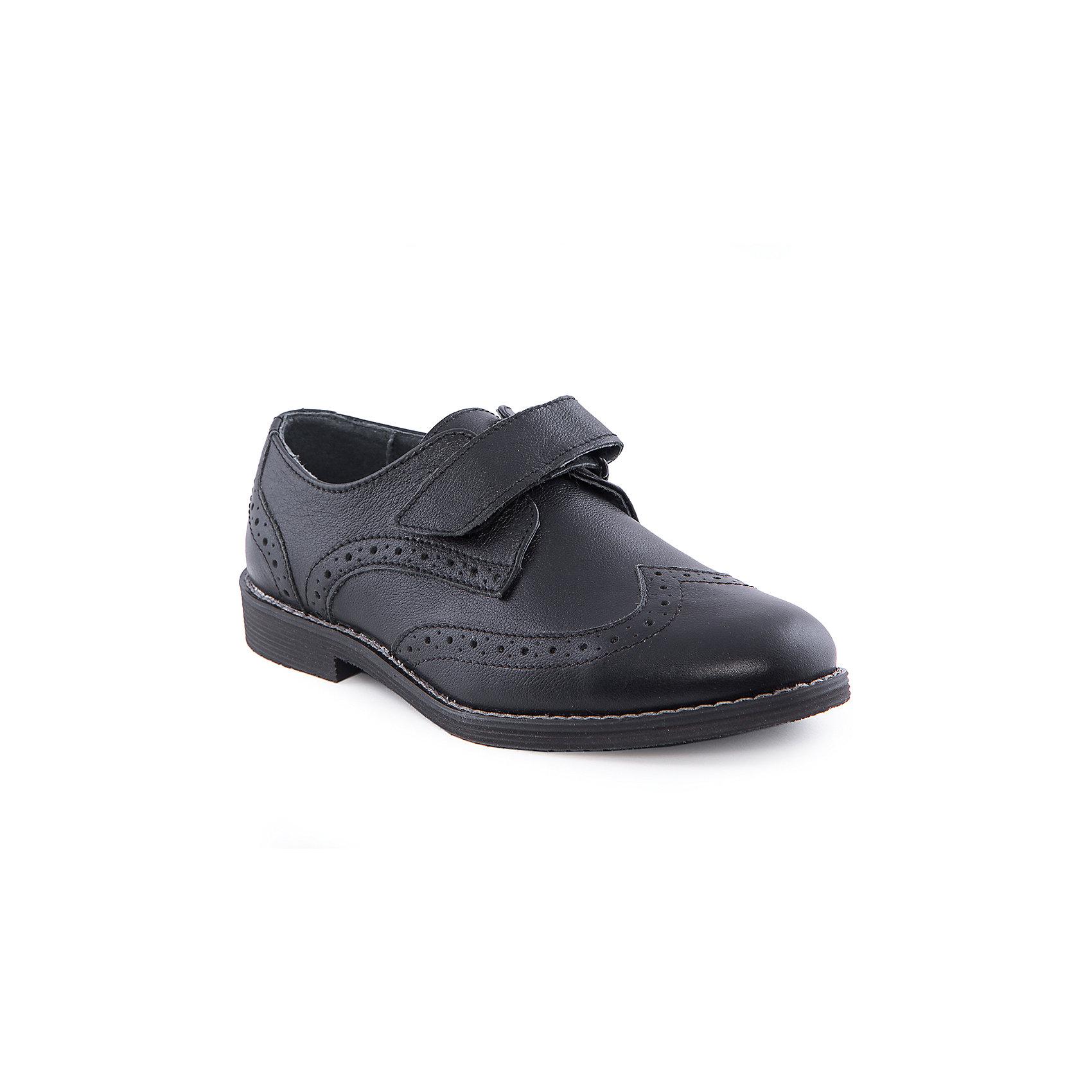 Полуботинки для мальчика MURSUПолуботинки для мальчика от известного финского бренда MURSU - прекрасный вариант для теплой погоды или же сменной обуви. Модель на небольшом удобном каблуке застегивается на липучку, декорирована перфорацией. Ботинки черного цвета изготовлены из натуральной кожи, прекрасно сочетаются с любой одеждой.<br><br>Дополнительная информация:<br><br>- Цвет: черный.<br>- Тип застежки: липучка.<br>- Декоративные элементы: перфорация.<br><br>Состав:<br><br>- Материал верха: натуральная кожа. <br>- Материал подкладки: натуральная кожа.<br>-  Материал подошвы: TPR.<br>- Материал стельки: натуральная кожа.<br><br>Полуботинки для мальчика MURSU (Мурсу), можно купить в нашем магазине.<br><br>Ширина мм: 262<br>Глубина мм: 176<br>Высота мм: 97<br>Вес г: 427<br>Цвет: черный<br>Возраст от месяцев: 132<br>Возраст до месяцев: 144<br>Пол: Мужской<br>Возраст: Детский<br>Размер: 35,33,32,34,36,37<br>SKU: 4195909