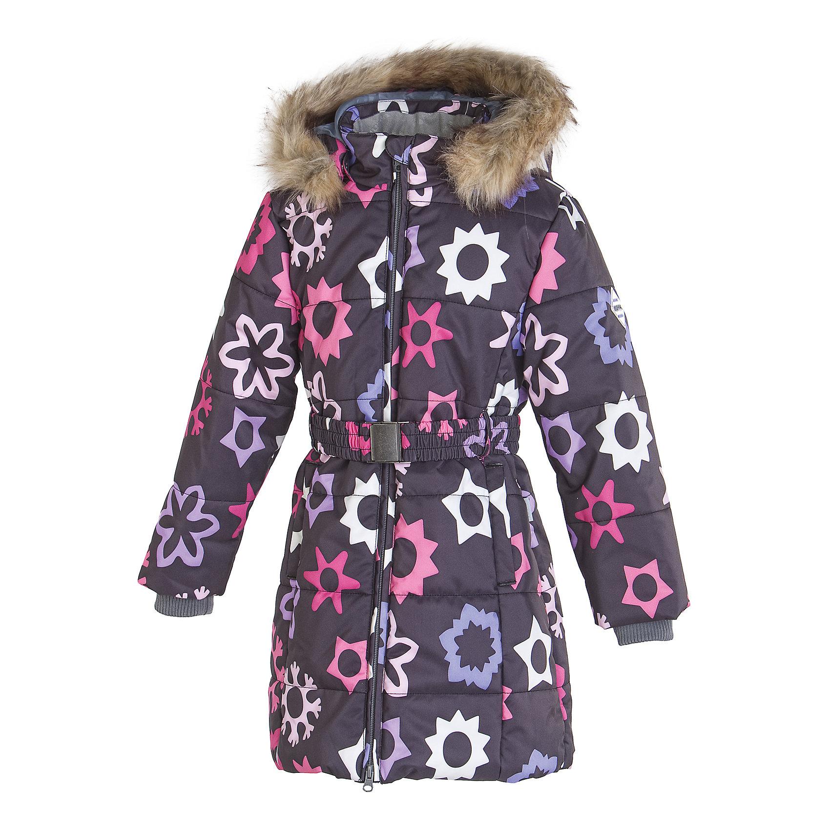 Пальто для девочки HuppaКлассическое зимнее пальто для девочек с более толстым ватином. У пальто приятная подкладка из тафты и отлично подходящая для нашего климата дышащая и водоотталкивающая ткань. Ношение делают более удобным съемный капюшон с мехом, рукава с резинкой и регулируемый ремень на резинке с пряжкой. Светоотражающие детали на разрезах повышают безопасность при передвижении в темное время.<br><br>Дополнительная информация:<br><br>Температурный режим: от -10 до -25<br>HuppaTherm 300 грамм<br>Высокотехнологичный лёгкий синтетический утеплитель нового поколения, сохраняет объём и высокую теплоизоляцию изделия, а также легко стирается и быстро сохнет.<br>Влагоустойчивая и дышащая ткань 10 000/ 10 000<br>Мембрана препятствует прохождению воды и ветра сквозь ткань внутрь изделия, позволяя испаряться выделяемой телом, образовывающейся внутри влаге.<br>Проклеенные швы<br>Для максимальной влагонепроницаемости изделия, важнейшие швы проклеены водостойкой лентой.<br>Прочная ткань<br>Сплетения волокон в тканях выполнены по специальной технологии, которая придаёт ткани прочность и предохранят от истирания.<br>Ткань: 100% полиэстер<br>Подкладка: тафта- 100% полиэстер<br>Утеплитель: 100% полиэстер - 300г.<br><br>Пальто для девочки Huppa можно купить в нашем магазине.<br><br>Ширина мм: 356<br>Глубина мм: 10<br>Высота мм: 245<br>Вес г: 519<br>Цвет: серый<br>Возраст от месяцев: 36<br>Возраст до месяцев: 48<br>Пол: Женский<br>Возраст: Детский<br>Размер: 104,140,110,128,158,152,146,122,134,116<br>SKU: 4201427