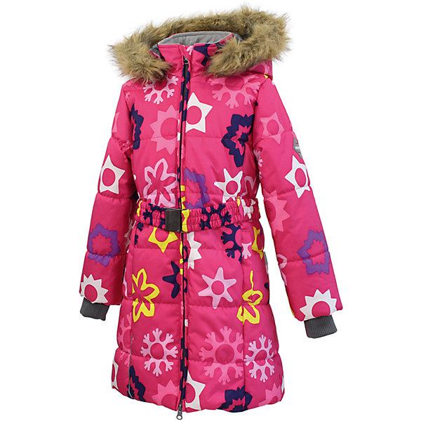 Пальто для девочки HuppaВерхняя одежда<br>Классическое зимнее пальто для девочек с более толстым ватином. У пальто приятная подкладка из тафты и отлично подходящая для нашего климата дышащая и водоотталкивающая ткань. Ношение делают более удобным съемный капюшон с мехом, рукава с резинкой и регулируемый ремень на резинке с пряжкой. Светоотражающие детали на разрезах повышают безопасность при передвижении в темное время.<br><br>Дополнительная информация:<br><br>Температурный режим: от -10 до -25<br>HuppaTherm 300 грамм<br>Высокотехнологичный лёгкий синтетический утеплитель нового поколения, сохраняет объём и высокую теплоизоляцию изделия, а также легко стирается и быстро сохнет.<br>Влагоустойчивая и дышащая ткань 10 000/ 10 000<br>Мембрана препятствует прохождению воды и ветра сквозь ткань внутрь изделия, позволяя испаряться выделяемой телом, образовывающейся внутри влаге.<br>Проклеенные швы<br>Для максимальной влагонепроницаемости изделия, важнейшие швы проклеены водостойкой лентой.<br>Прочная ткань<br>Сплетения волокон в тканях выполнены по специальной технологии, которая придаёт ткани прочность и предохранят от истирания.<br>Ткань: 100% полиэстер<br>Подкладка: тафта- 100% полиэстер<br>Утеплитель: 100% полиэстер - 300г.<br><br>Пальто для девочки Huppa можно купить в нашем магазине.<br>Ширина мм: 356; Глубина мм: 10; Высота мм: 245; Вес г: 519; Цвет: белый; Возраст от месяцев: 36; Возраст до месяцев: 48; Пол: Женский; Возраст: Детский; Размер: 104,134,158,110,116,158,146,122,140,128; SKU: 4201446;