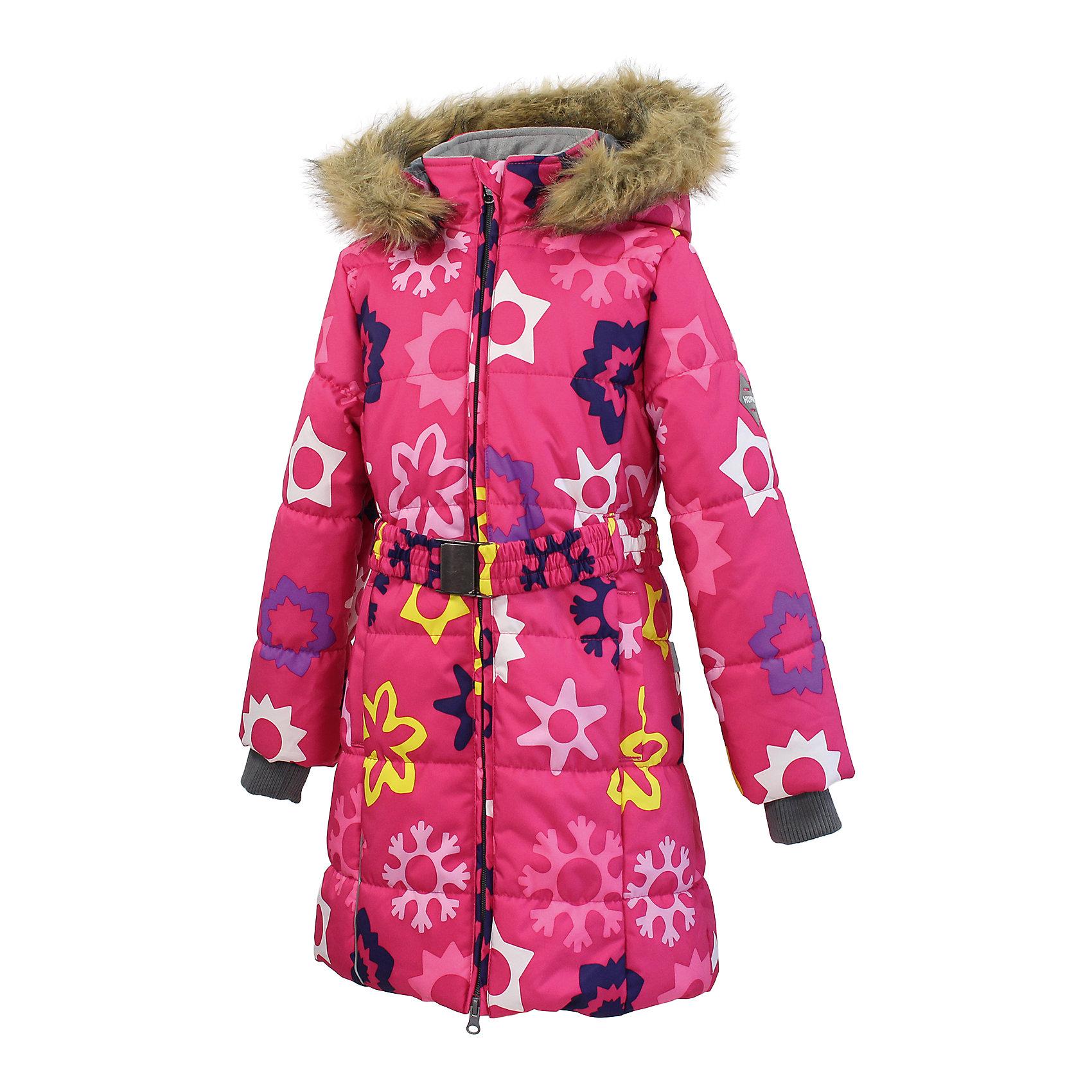 Пальто для девочки HuppaКлассическое зимнее пальто для девочек с более толстым ватином. У пальто приятная подкладка из тафты и отлично подходящая для нашего климата дышащая и водоотталкивающая ткань. Ношение делают более удобным съемный капюшон с мехом, рукава с резинкой и регулируемый ремень на резинке с пряжкой. Светоотражающие детали на разрезах повышают безопасность при передвижении в темное время.<br><br>Дополнительная информация:<br><br>Температурный режим: от -10 до -25<br>HuppaTherm 300 грамм<br>Высокотехнологичный лёгкий синтетический утеплитель нового поколения, сохраняет объём и высокую теплоизоляцию изделия, а также легко стирается и быстро сохнет.<br>Влагоустойчивая и дышащая ткань 10 000/ 10 000<br>Мембрана препятствует прохождению воды и ветра сквозь ткань внутрь изделия, позволяя испаряться выделяемой телом, образовывающейся внутри влаге.<br>Проклеенные швы<br>Для максимальной влагонепроницаемости изделия, важнейшие швы проклеены водостойкой лентой.<br>Прочная ткань<br>Сплетения волокон в тканях выполнены по специальной технологии, которая придаёт ткани прочность и предохранят от истирания.<br>Ткань: 100% полиэстер<br>Подкладка: тафта- 100% полиэстер<br>Утеплитель: 100% полиэстер - 300г.<br><br>Пальто для девочки Huppa можно купить в нашем магазине.<br><br>Ширина мм: 356<br>Глубина мм: 10<br>Высота мм: 245<br>Вес г: 519<br>Цвет: разноцветный<br>Возраст от месяцев: 48<br>Возраст до месяцев: 60<br>Пол: Женский<br>Возраст: Детский<br>Размер: 110,158,116,128,140,158,134,104,122,146<br>SKU: 4201446