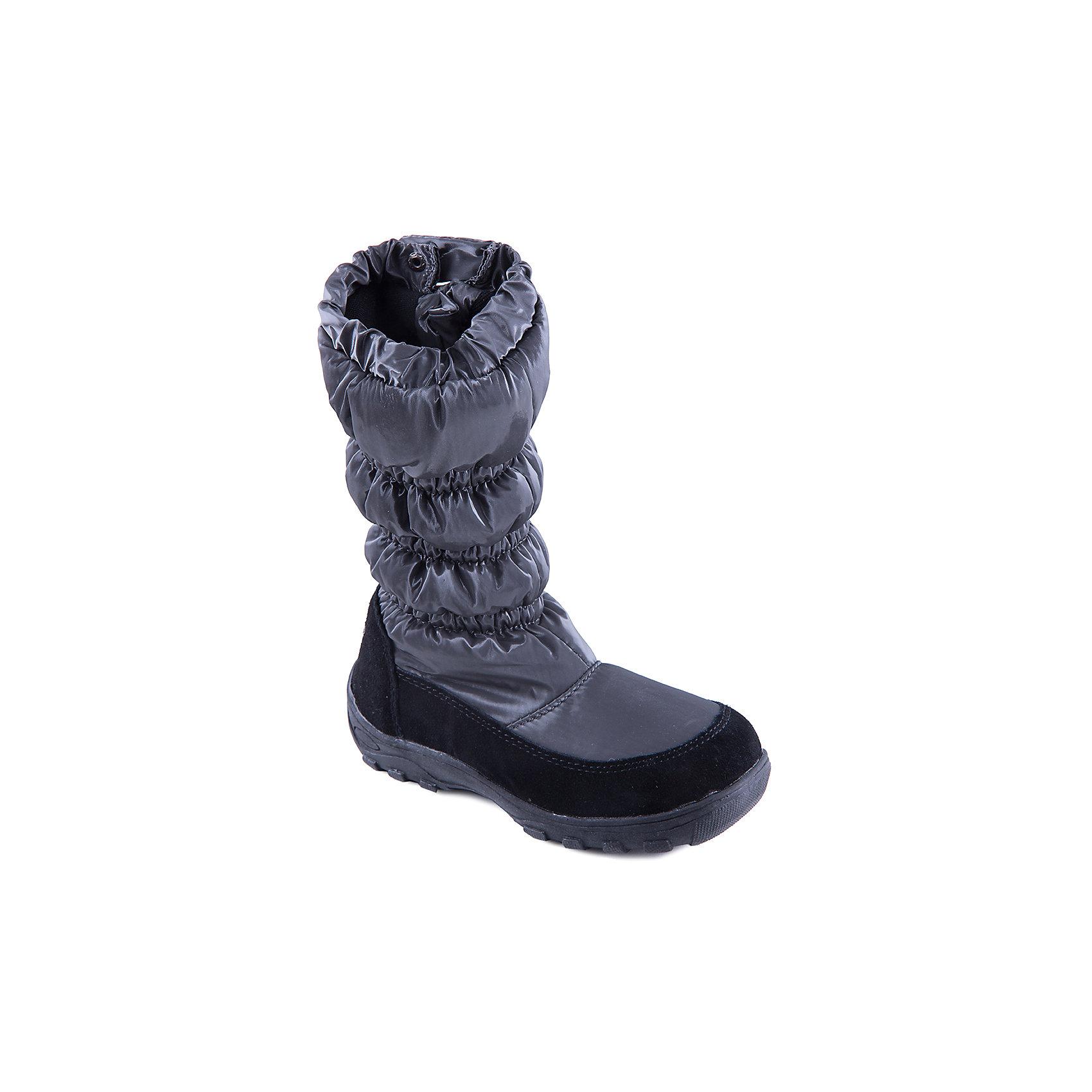 Сапоги для девочки MURSUСтильные сапоги от известного бренда MURSU порадуют всех юных модниц. Модель имеет антискользящую подошву, выполнена из высококачественных материалов, очень хорошо смотрится на ноге. Сапоги застегиваются на молнию и кнопку.  Прекрасный вариант на холодную погоду. <br><br>Дополнительная информация:<br><br>- Сезон: зима/осень.<br>- Тепловой режим: от -5? до -20? <br>- Цвет: серый.<br>- Рифленая подошва.<br>- Тип застежки: молния, кнопка. <br><br>Состав:<br>- Материал верха: текстиль/ искусственная замша.<br>- Материал подкладки: искусственная шерсть.<br>- Материал подошвы: TEP.<br>- Материал стельки: искусственная шерсть.<br><br>Сапоги для девочки MURSU (Мурсу) можно купить в нашем магазине.<br><br>Ширина мм: 257<br>Глубина мм: 180<br>Высота мм: 130<br>Вес г: 420<br>Цвет: серый<br>Возраст от месяцев: 96<br>Возраст до месяцев: 108<br>Пол: Женский<br>Возраст: Детский<br>Размер: 32,36,37,33,34,35<br>SKU: 4202436