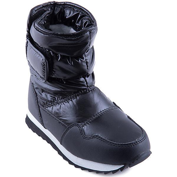 Дутики для девочки MursuОбувь<br>Стильные сапоги от известного бренда MURSU порадуют всех юных модниц. Модель имеет толстую подошву, отлично защищающую ноги от холода, выполнена из высококачественных материалов, очень хорошо смотрится на ноге.   Прекрасный вариант на холодную погоду. <br><br>Дополнительная информация:<br><br>- Сезон: зима/осень.<br>- Тепловой режим: от -5? до -25? <br>- Цвет: черный.<br>- Рифленая подошва.<br>- Тип застежки: липучка. <br><br>Состав:<br>- Материал верха: текстиль/ искусственная замша.<br>- Материал подкладки: искусственная шерсть.<br>- Материал подошвы: TEP.<br>- Материал стельки: искусственная шерсть.<br><br>Сапоги для девочки MURSU (Мурсу) можно купить в нашем магазине.<br>Ширина мм: 257; Глубина мм: 180; Высота мм: 130; Вес г: 420; Цвет: черный; Возраст от месяцев: 96; Возраст до месяцев: 108; Пол: Женский; Возраст: Детский; Размер: 32,33,35,30,34,31; SKU: 4202548;