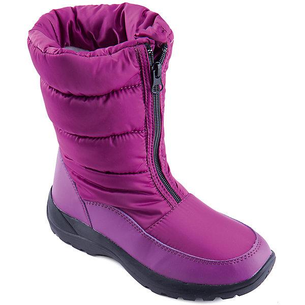 Дутики для девочки MURSUОбувь<br>Яркие сапоги от известного бренда MURSU порадуют всех юных модниц. Модель имеет толстую подошву, отлично защищающую ноги от холода, выполнена из высококачественных материалов, очень хорошо смотрится на ноге.  Ботинки с усиленным задником застегиваются на молнию спереди. Прекрасный вариант на холодную погоду. <br><br>Дополнительная информация:<br><br>- Сезон: зима/осень.<br>- Тепловой режим: от -5? до -25?. <br>- Рифленая подошва.<br>- Тип застежки: молния.<br>- Декоративные элементы: принт, отстрочка. <br><br>Состав:<br>- Материал верха: текстиль/ искусственная замша.<br>- Материал подкладки: искусственная шерсть.<br>- Материал подошвы: TEP.<br>- Материал стельки: искусственная шерсть.<br><br>Сапоги для девочки MURSU (Мурсу) можно купить в нашем магазине.<br>Ширина мм: 257; Глубина мм: 180; Высота мм: 130; Вес г: 420; Цвет: лиловый; Возраст от месяцев: 108; Возраст до месяцев: 120; Пол: Женский; Возраст: Детский; Размер: 33,35,32,36,37,34; SKU: 4202555;