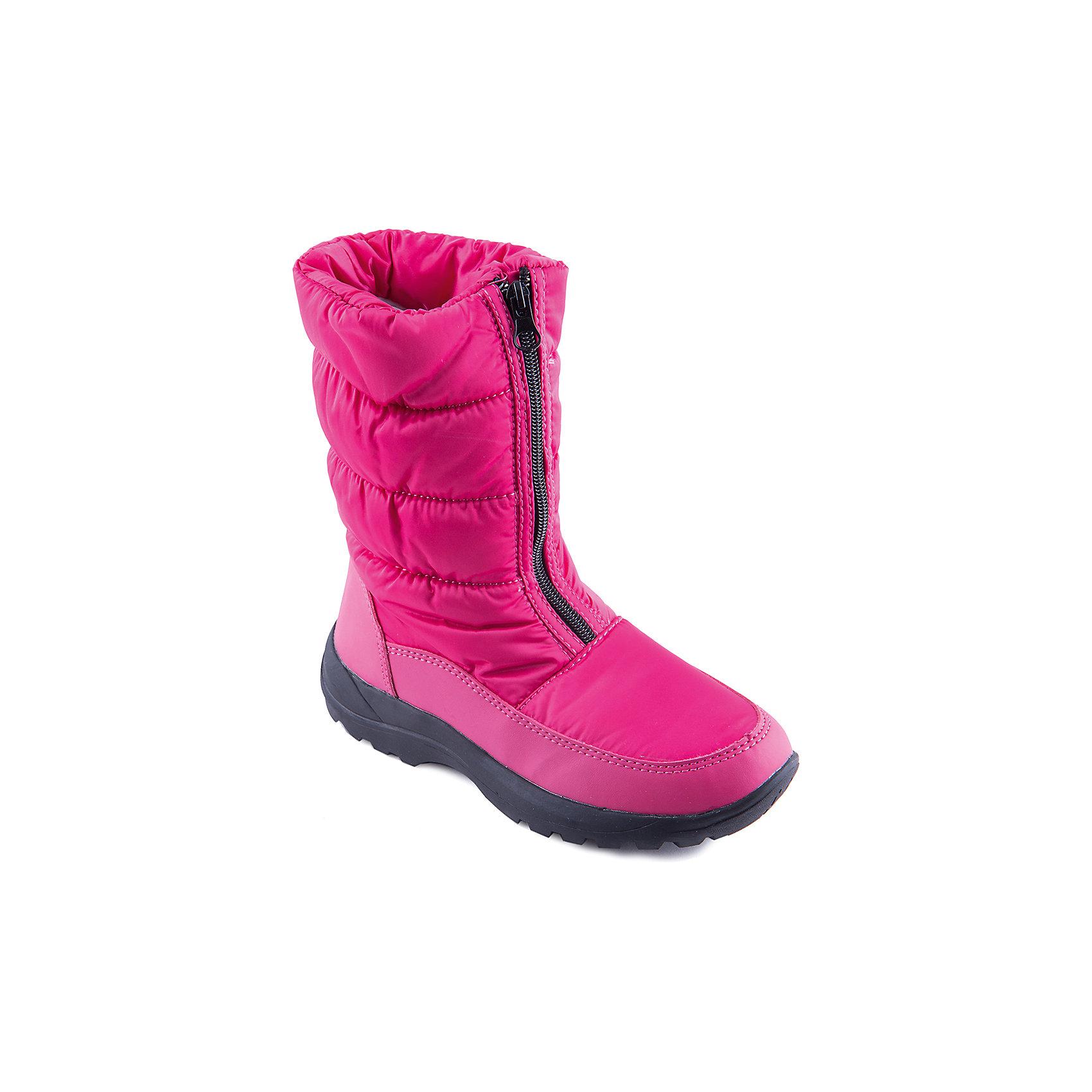 Сапоги для девочки MURSUЯркие сапоги от известного бренда MURSU порадуют всех юных модниц. Модель имеет толстую подошву, отлично защищающую ноги от холода, выполнена из высококачественных материалов, очень хорошо смотрится на ноге.  Ботинки с усиленным задником застегиваются на молнию спереди. Прекрасный вариант на холодную погоду. <br><br>Дополнительная информация:<br><br>- Сезон: зима/осень.<br>- Тепловой режим: от -5? до -25?.<br>- Цвет: розовый. <br>- Рифленая подошва.<br>- Тип застежки: молния.<br>- Декоративные элементы: принт, отстрочка. <br><br>Состав:<br><br>- Материал верха: текстиль/ искусственная замша.<br>- Материал подкладки: искусственная шерсть.<br>- Материал подошвы: TEP.<br>- Материал стельки: искусственная шерсть.<br><br>Сапоги для девочки MURSU (Мурсу) можно купить в нашем магазине.<br><br>Ширина мм: 257<br>Глубина мм: 180<br>Высота мм: 130<br>Вес г: 420<br>Цвет: фуксия<br>Возраст от месяцев: 144<br>Возраст до месяцев: 156<br>Пол: Женский<br>Возраст: Детский<br>Размер: 36,32,34,37,33,35<br>SKU: 4202562