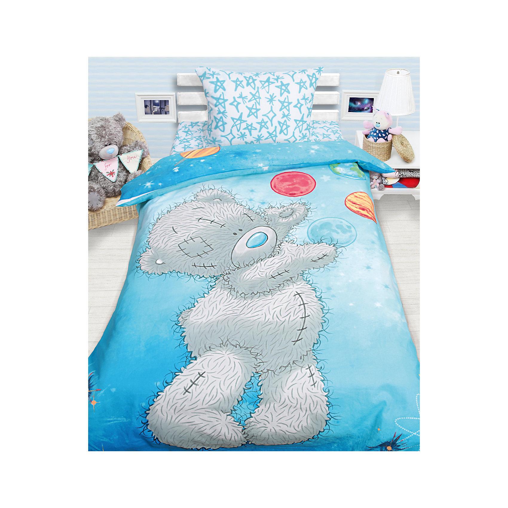 Мона Лиза Постельное белье детское Тедди Астроном, 1,5-спальный (наволочка 50*70 см) мона лиза 2 спальное наволочка 50х70 samui