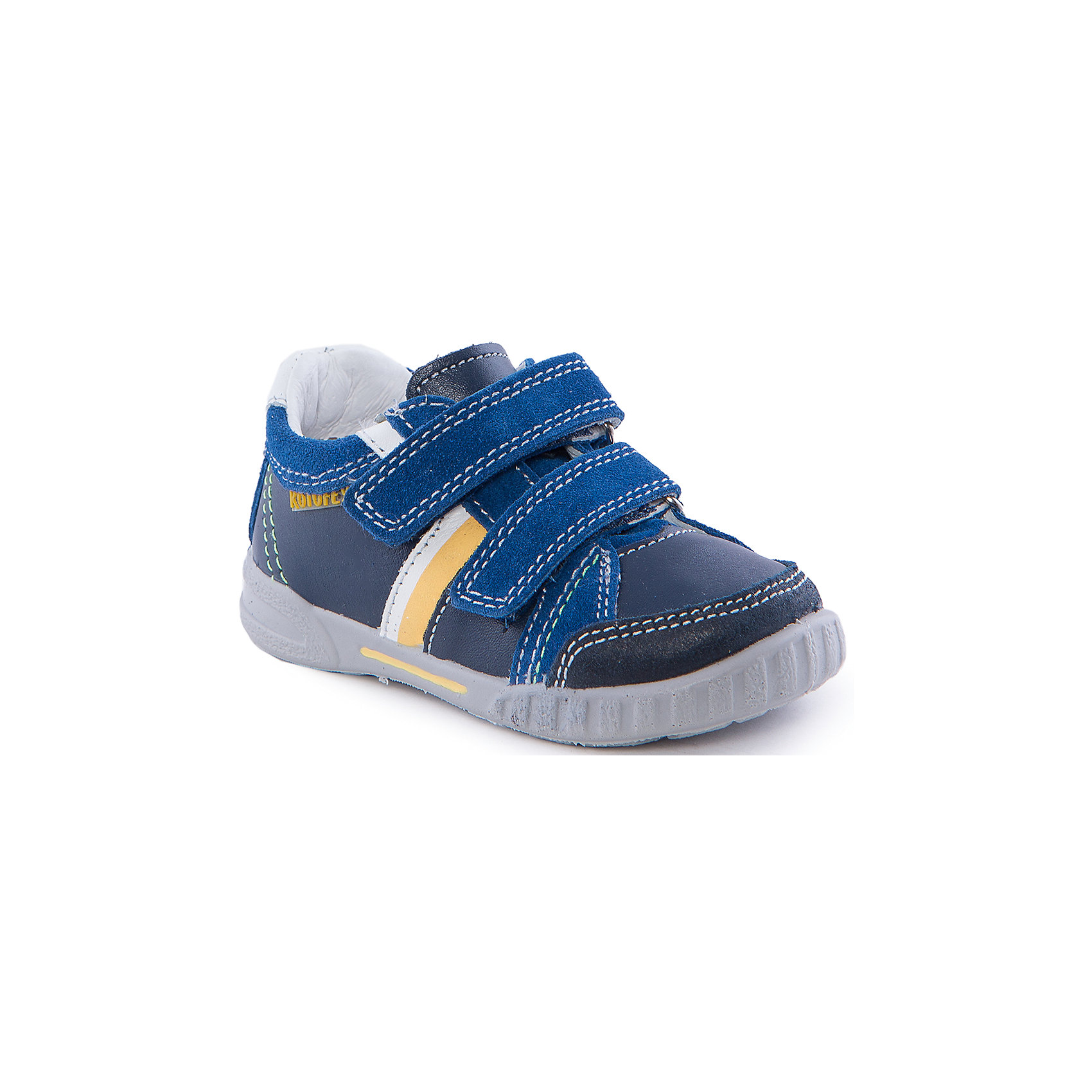 Полуботинки для мальчика КотофейПолуботинки для мальчика от популярной марки Котофей.<br>Красивые синие полуботинки для мальчика – это универсальная и практичная обувь. Они легко застегиваются благодаря липучкам, отлично прошиты. Сделаны из натуральной кожи.<br>Их отличительные особенности:<br>- модный дизайн;<br>- цвет синий с яркими вставками;<br>- комфортная колодка;<br>- устойчивая подошва;<br>- удобные застежки-липучки;<br>- материал – натуральная кожа.<br>Дополнительная информация:<br>- Температурный режим: от + 5° С  до + 25° С.<br>- Состав:<br>материал верха: натуральная кожа<br>материал подкладки: натуральная кожа<br>подошва: ПУ.<br>Полуботинки для мальчика Котофей можно купить в нашем магазине.<br><br>Ширина мм: 262<br>Глубина мм: 176<br>Высота мм: 97<br>Вес г: 427<br>Цвет: синий<br>Возраст от месяцев: 15<br>Возраст до месяцев: 18<br>Пол: Мужской<br>Возраст: Детский<br>Размер: 22,28,26,21,23,24,25,27<br>SKU: 4206739
