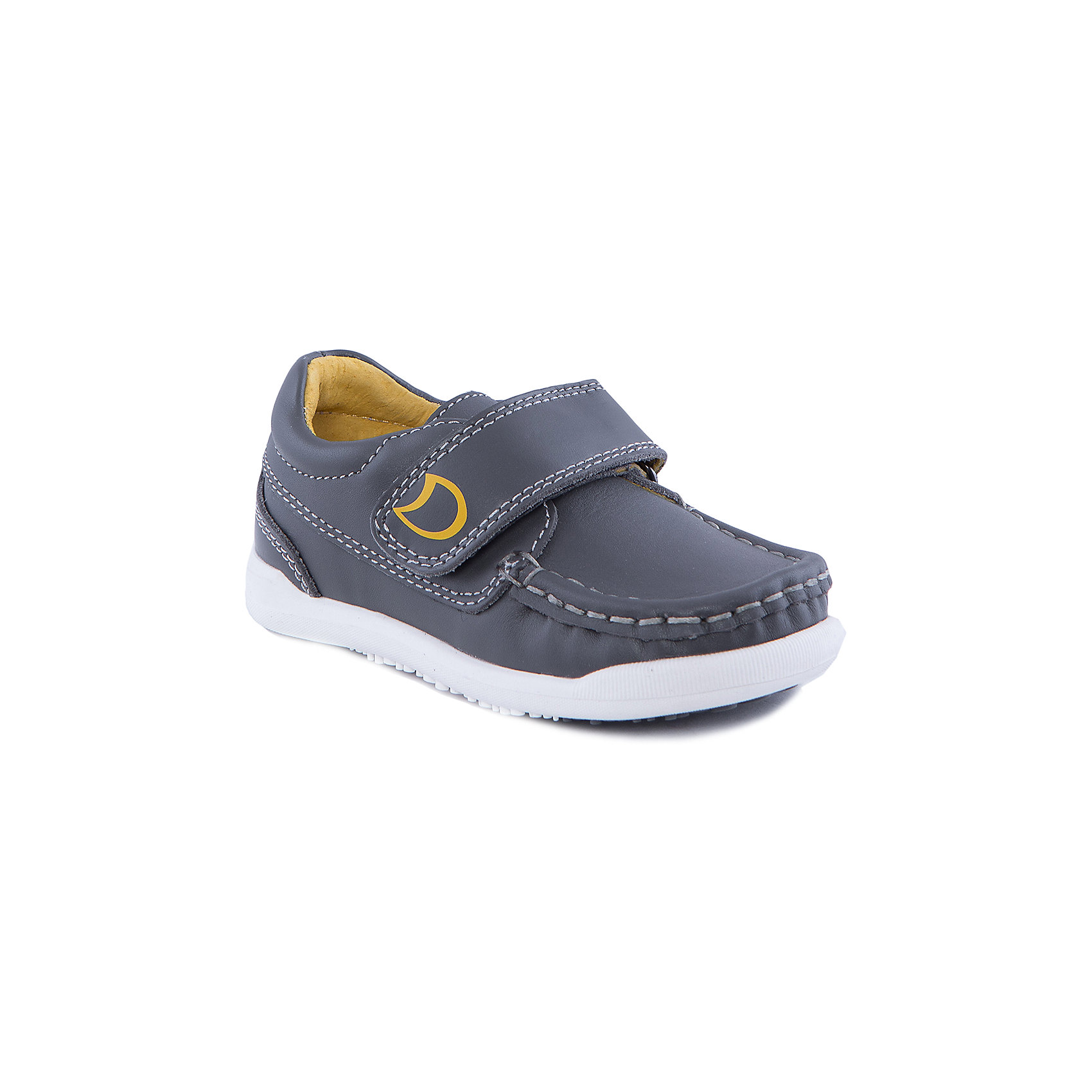 Мокасины для мальчика КотофейТуфли для мальчика от популярной марки Котофей.<br>Удобные и стильные туфли для мальчика – это комфортная и практичная обувь. Они легко застегиваются благодаря липучке, отлично прошиты. Сделаны из натуральной кожи.<br>Их отличительные особенности:<br>- модный дизайн;<br>- практичный серый цвет;<br>- комфортная колодка;<br>- устойчивая подошва;<br>- удобная застежка-липучка;<br>- материал – натуральная кожа.<br>Дополнительная информация:<br>- Температурный режим: от + 5° С  до + 25° С.<br>- Состав:<br>материал верха: натуральная кожа<br>материал подкладки: натуральная кожа<br>подошва: ТЭП.<br>Туфли для мальчика Котофей можно купить в нашем магазине.<br><br>Ширина мм: 227<br>Глубина мм: 145<br>Высота мм: 124<br>Вес г: 325<br>Цвет: серый<br>Возраст от месяцев: 18<br>Возраст до месяцев: 21<br>Пол: Мужской<br>Возраст: Детский<br>Размер: 23,24,25,26<br>SKU: 4206813