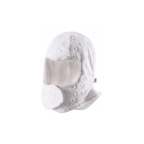 Шапка-шлем ReimaГоловные уборы<br>Забавная, но в то же время функциональная балаклава - одна из наших новейших разработок! Предназначен для новорожденных и младенцев. Очень удобная липучка спереди облегчает одевание. Продуманный дизайн обеспечивает надежную защиту подбородка, шеи и щечек ребенка, а вставки в области ушей позволяют держать маленькие ушки в тепле! Легкая мягкая хлопчатобумажная подкладка не раздражает кожу, отлично подходит для зимы. Прекрасно сочетается с варежками Tyst!<br><br>Детская балаклава из флиса с вышивкой <br>Задние швы отсутствуют<br>Легкая мягкая хлопчатобумажная подкладка с начесом<br>Ветронепроницаемые вставки в области ушей<br>Спереди на липучке<br><br>Состав:<br>100% ПЭ<br><br><br>Шапку-шлем Reima (Рейма) можно купить в нашем магазине.<br><br>Ширина мм: 89<br>Глубина мм: 117<br>Высота мм: 44<br>Вес г: 155<br>Цвет: белый<br>Возраст от месяцев: 6<br>Возраст до месяцев: 9<br>Пол: Женский<br>Возраст: Детский<br>Размер: 44-46,40-42,36<br>SKU: 4208582
