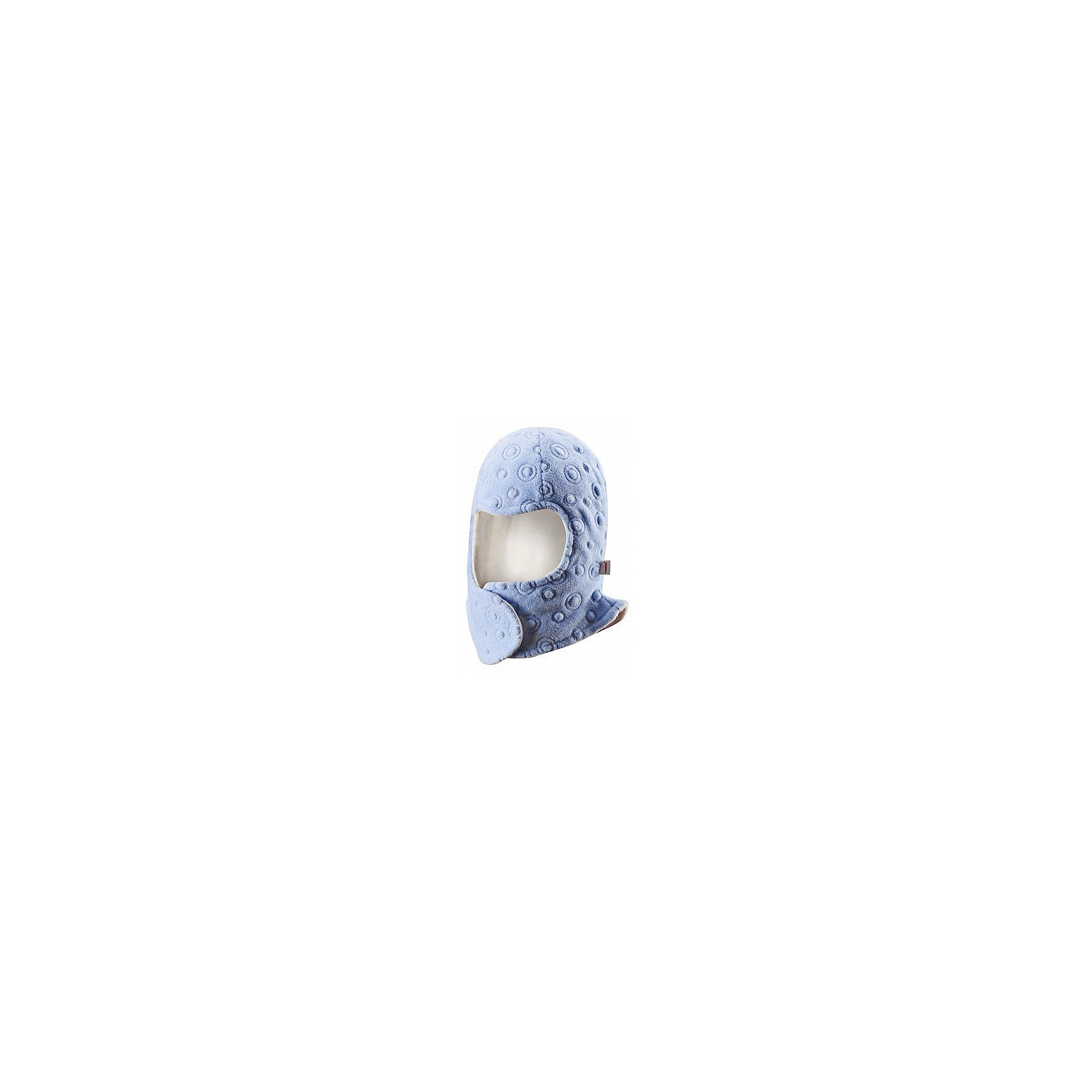 Шапка-шлем ReimaЗабавная, но в то же время функциональная балаклава - одна из наших новейших разработок! Предназначен для новорожденных и младенцев. Очень удобная липучка спереди облегчает одевание. Продуманный дизайн обеспечивает надежную защиту подбородка, шеи и щечек ребенка, а вставки в области ушей позволяют держать маленькие ушки в тепле! Легкая мягкая хлопчатобумажная подкладка не раздражает кожу, отлично подходит для зимы. Прекрасно сочетается с варежками Tyst!<br><br>Детская балаклава из флиса с вышивкой <br>Задние швы отсутствуют<br>Легкая мягкая хлопчатобумажная подкладка с начесом<br>Ветронепроницаемые вставки в области ушей<br>Спереди на липучке<br>Сочетается с варежками 517116 Tyst<br>Состав:<br>100% ПЭ<br><br><br>Шапку-шлем Reima (Рейма) можно купить в нашем магазине.<br><br>Ширина мм: 89<br>Глубина мм: 117<br>Высота мм: 44<br>Вес г: 155<br>Цвет: голубой<br>Возраст от месяцев: 4<br>Возраст до месяцев: 6<br>Пол: Унисекс<br>Возраст: Детский<br>Размер: 44-46,36,40-42<br>SKU: 4208590