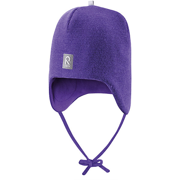 Шапка для девочки ReimaШапки и шарфы<br>Любимая шапка малышей в модных цветах сезона надёжно согреет в холодные зимние дни! Шерстяная шапка для малышей согреет в морозную погоду: мягкая подкладка из флиса для тепла и комфорта. Шерстяная шапка с подкладкой из флиса особенно подходит для маленьких приключений на свежем воздухе, потому что флис быстро высыхает и хорошо выводит влагу. Благодаря эластичной вязке шапка плотно прилегает, а ветронепроницаемые вставки в области ушей защищают маленькие ушки от холодного ветра. Завязки надёжно фиксируют шапку на голове и не натирают. Для завершения стильного образа носите с тёплой горловиной Star!<br><br>Шерстяная шапка для малышей <br>Полностью на подкладке: Мягкий тёплый флис<br>Ветронепроницаемые вставки в области ушей <br>Доступна в однотонном и полосатом вариантах<br>Состав:<br>100% Шерсть<br><br><br>Шапку Reima (Рейма) можно купить в нашем магазине.<br><br>Ширина мм: 89<br>Глубина мм: 117<br>Высота мм: 44<br>Вес г: 155<br>Цвет: лиловый<br>Возраст от месяцев: 6<br>Возраст до месяцев: 9<br>Пол: Женский<br>Возраст: Детский<br>Размер: 46,52,50,48<br>SKU: 4208665
