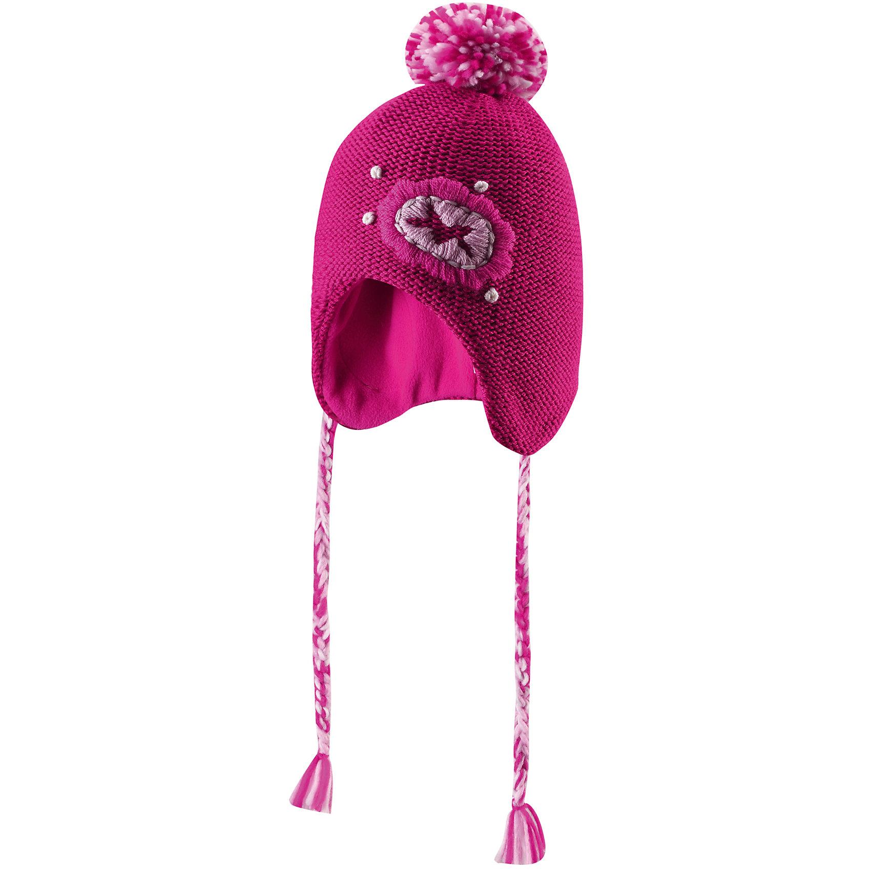 Reima Шапка для девочки Reima плетеные заборы для дачи купить