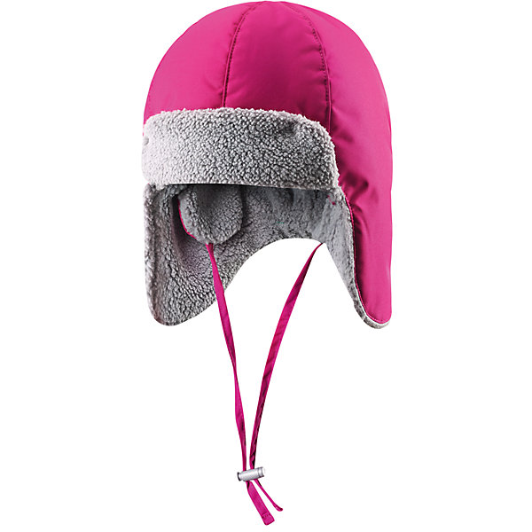 Шапка для девочки ReimaШапочки<br>Мы добавили к популярной модели новые детали! Эта уютная зимняя шапка для малышей и ребят постарше отлично подходит для холодной ветреной погоды - больше не придётся прятаться в помещении! Она сделана из ветронепроницаемого материала на мягкой тёплой плюшевой подкладке. Благодаря хорошо продуманному дизайну, область шеи и ушей хорошо защищена, поэтому малыши не замёрзнут и не вспотеют, когда будут играть в снежки на улице. Очень удобные завязки под подбородком удерживают шапку на месте. Сзади шапка регулируется по размеру с помощью эластичной ленты. Классические стильные цвета легко сочетаются с нашими зимними куртками и комбинезонами!<br><br> Тёплая зимняя шапка для малышей и ребят постарше <br> Мягкая тёплая подкладка с начёсом<br> Лёгкий утеплитель 80 г<br> Регулируется по размеру с помощью завязок под подбородком и эластичной ленты сзади <br>Состав:<br>100% ПЭ, ПУ-покрытие<br>Легкая степень утепления (до - 10)<br><br>Шапку Reima (Рейма) можно купить в нашем магазине.<br>Ширина мм: 89; Глубина мм: 117; Высота мм: 44; Вес г: 155; Цвет: розовый; Возраст от месяцев: 12; Возраст до месяцев: 24; Пол: Женский; Возраст: Детский; Размер: 48,50,52,46; SKU: 4208783;