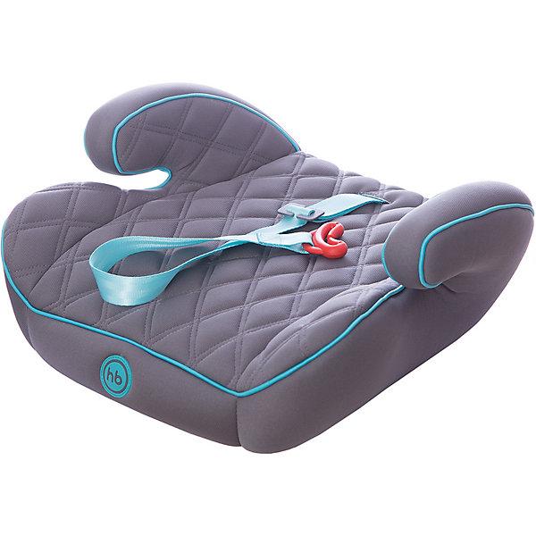 Автокресло-бустер Happy Baby Booster Rider, 15-36 кг, серыйГруппа 2-3  (от 15 до 36 кг)<br>Автокресло-бустер Booster Rider, Happy Baby (Хэппи Бэби) - комфортная надежная модель, которая сделает поездку Вашего ребенка приятной и безопасной. Кресло представляет из себя бустер с сиденьем анатомической формы, мягкое полиэстеровое покрытие с двойной стежкой и удобные мягкие подлокотниками обеспечивают ребенку комфорт во время путешествия. Прочный каркас из мощного ударопрочного пластика создает дополнительную безопасность. Кресло устанавливается в салоне штатными 3-х точечными ремнями безопасности на заднем или переднем сиденье лицом по ходу движения автомобиля. Тканевая обивка изготовлена из качественного, износостойкого материала, хорошо держащего форму, легко снимается для чистки или стирки при температуре 30° С. Компактные размеры позволяют с легкостью поместить бустер в багажник. Рассчитано на детей от 4 лет до 12 лет, весом 15-36 кг. Сертификат безопасности ECE R44/03.<br><br>Дополнительная информация:<br><br>- Цвет: aqua (темно-серый/бирюзовый).<br>- Материал: каркас - пластик, обивка и наполнитель - полиэстер.<br>- Ширина сиденья: 40 см.<br>- Размер бустера: 16 x 40 x 38 см.<br>- Вес: 1,3 кг.<br><br>Автокресло-бустер Booster Rider, Happy Baby (Хэппи Бэби), aqua, можно купить в нашем интернет-магазине.<br>Ширина мм: 410; Глубина мм: 390; Высота мм: 460; Вес г: 1525; Цвет: серый; Возраст от месяцев: 36; Возраст до месяцев: 144; Пол: Унисекс; Возраст: Детский; SKU: 4212237;