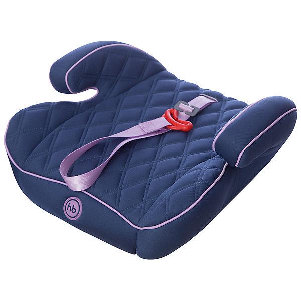 Автокресло-бустер Happy Baby Booster Rider, 15-36 кг, синийГруппа 3 (от 22 до 36 кг) Бустеры<br>Автокресло-бустер Booster Rider, Happy Baby (Хэппи Бэби) - комфортная надежная модель, которая сделает поездку Вашего ребенка приятной и безопасной. Кресло представляет из себя бустер с сиденьем анатомической формы, мягкое полиэстеровое покрытие с двойной стежкой и удобные мягкие подлокотниками обеспечивают ребенку комфорт во время путешествия. Прочный каркас из мощного ударопрочного пластика создает дополнительную безопасность. Кресло устанавливается в салоне штатными 3-х точечными ремнями безопасности на заднем или переднем сиденье лицом по ходу движения автомобиля. Тканевая обивка изготовлена из качественного, износостойкого материала, хорошо держащего форму, легко снимается для чистки или стирки при температуре 30° С. Компактные размеры позволяют с легкостью поместить бустер в багажник. Рассчитано на детей от 4 лет до 12 лет, весом 15-36 кг. Сертификат безопасности ECE R44/03.<br><br>Дополнительная информация:<br><br>- Цвет: lilac (темно-синий/сиреневый).<br>- Материал: каркас - пластик, обивка и наполнитель - полиэстер.<br>- Ширина сиденья: 40 см.<br>- Размер бустера: 16 x 40 x 38 см.<br>- Вес: 1,3 кг.<br><br>Автокресло-бустер Booster Rider, Happy Baby (Хэппи Бэби), lilac, можно купить в нашем интернет-магазине.<br><br>Ширина мм: 410<br>Глубина мм: 390<br>Высота мм: 460<br>Вес г: 1525<br>Цвет: синий<br>Возраст от месяцев: 36<br>Возраст до месяцев: 144<br>Пол: Унисекс<br>Возраст: Детский<br>SKU: 4212238