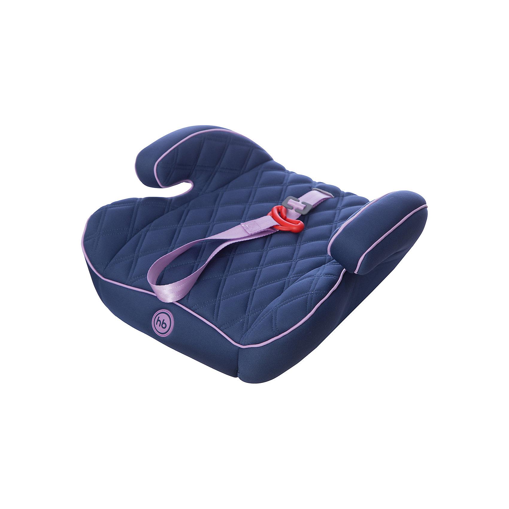 Автокресло-бустер Booster Rider, 15-36 кг., Happy Baby, синийАвтокресло-бустер Booster Rider, Happy Baby (Хэппи Бэби) - комфортная надежная модель, которая сделает поездку Вашего ребенка приятной и безопасной. Кресло представляет из себя бустер с сиденьем анатомической формы, мягкое полиэстеровое покрытие с двойной стежкой и удобные мягкие подлокотниками обеспечивают ребенку комфорт во время путешествия. Прочный каркас из мощного ударопрочного пластика создает дополнительную безопасность. Кресло устанавливается в салоне штатными 3-х точечными ремнями безопасности на заднем или переднем сиденье лицом по ходу движения автомобиля. Тканевая обивка изготовлена из качественного, износостойкого материала, хорошо держащего форму, легко снимается для чистки или стирки при температуре 30° С. Компактные размеры позволяют с легкостью поместить бустер в багажник. Рассчитано на детей от 4 лет до 12 лет, весом 15-36 кг. Сертификат безопасности ECE R44/03.<br><br>Дополнительная информация:<br><br>- Цвет: lilac (темно-синий/сиреневый).<br>- Материал: каркас - пластик, обивка и наполнитель - полиэстер.<br>- Ширина сиденья: 40 см.<br>- Размер бустера: 16 x 40 x 38 см.<br>- Вес: 1,3 кг.<br><br>Автокресло-бустер Booster Rider, Happy Baby (Хэппи Бэби), lilac, можно купить в нашем интернет-магазине.<br><br>Ширина мм: 410<br>Глубина мм: 390<br>Высота мм: 460<br>Вес г: 1525<br>Цвет: синий<br>Возраст от месяцев: 36<br>Возраст до месяцев: 144<br>Пол: Унисекс<br>Возраст: Детский<br>SKU: 4212238