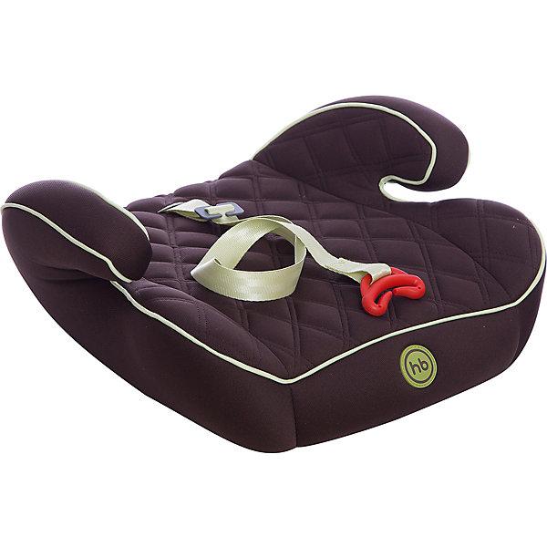 Автокресло-бустер Happy Baby Booster Rider, 15-36 кг, коричневыйГруппа 3 (от 22 до 36 кг) Бустеры<br>Автокресло-бустер Booster Rider, Happy Baby (Хэппи Бэби) - комфортная надежная модель, которая сделает поездку Вашего ребенка приятной и безопасной. Кресло представляет из себя бустер с сиденьем анатомической формы, мягкое полиэстеровое покрытие с двойной стежкой и удобные мягкие подлокотниками обеспечивают ребенку комфорт во время путешествия. Прочный каркас из мощного ударопрочного пластика создает дополнительную безопасность. Кресло устанавливается в салоне штатными 3-х точечными ремнями безопасности на заднем или переднем сиденье лицом по ходу движения автомобиля. Тканевая обивка изготовлена из качественного, износостойкого материала, хорошо держащего форму, легко снимается для чистки или стирки при температуре 30° С. Компактные размеры позволяют с легкостью поместить бустер в багажник. Рассчитано на детей от 4 лет до 12 лет, весом 15-36 кг. Сертификат безопасности ECE R44/03.<br><br>Дополнительная информация:<br><br>- Цвет: lime (коричневый/зеленый).<br>- Материал: каркас - пластик, обивка и наполнитель - полиэстер.<br>- Ширина сиденья: 40 см.<br>- Размер бустера: 16 x 40 x 38 см.<br>- Вес: 1,3 кг.<br><br>Автокресло-бустер Booster Rider, Happy Baby (Хэппи Бэби), lime, можно купить в нашем интернет-магазине.<br>Ширина мм: 410; Глубина мм: 390; Высота мм: 460; Вес г: 1525; Цвет: коричневый; Возраст от месяцев: 36; Возраст до месяцев: 144; Пол: Унисекс; Возраст: Детский; SKU: 4212239;