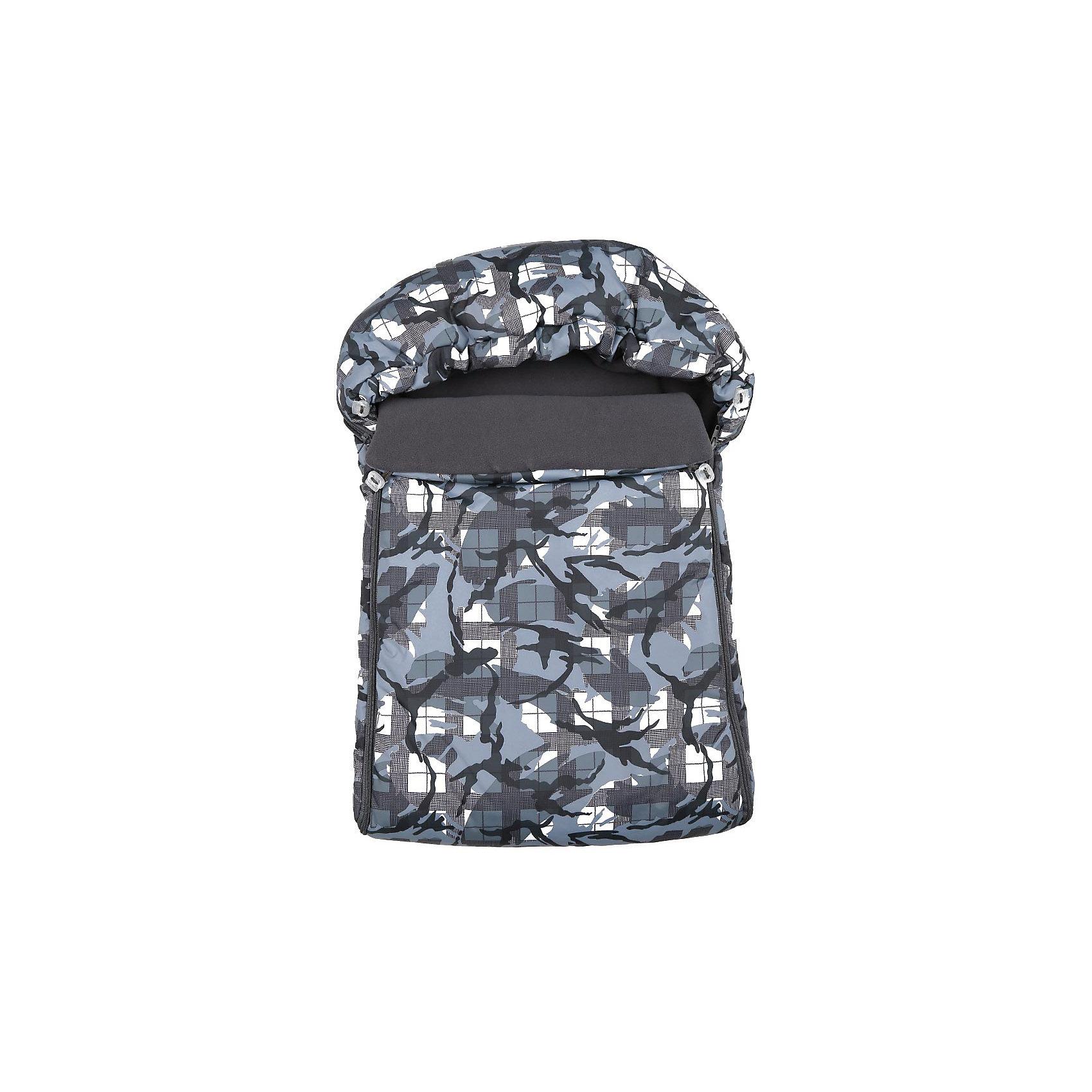 Спальный мешок Защита, Leader Kids, хакиСпальный мешок Защита, Leader Kids,- идеальный вариант для самых маленьких, он замечательно подойдет для прогулок в коляске в прохладную погоду и создаст ощущение тепла и уюта. Мешок имеет серую защитную расцветку, для удобства чехол застегивается с двух сторон на молнию, капюшон оснащен резинкой для утяжки до нужного размера. Покрытие из плащевки (100% полиэстер) обладает водо- и грязеотталкивающими свойствами, наполнитель из нетканого волокна хорошо сохраняет тепло, пропускает воздух и поддерживает оптимальную для малыша температуру, подкладка из мягкого теплого флиса создает дополнительный комфорт. <br><br>Дополнительная информация:<br><br>- Цвет: серый.<br>- Сезон: круглогодичный.<br>- Материал: 100% полиэстер, наполнитель - нетканое волокно, подкладка - флис (100% полиэстер).<br>- Размер: 70 х 48 х 35 см.<br>- Вес: 0,7 кг.<br><br>Спальный мешок Защита, Leader Kids, серый, можно купить в нашем интернет-магазине.<br><br>Ширина мм: 700<br>Глубина мм: 480<br>Высота мм: 350<br>Вес г: 700<br>Цвет: хаки<br>Возраст от месяцев: 0<br>Возраст до месяцев: 6<br>Пол: Унисекс<br>Возраст: Детский<br>SKU: 4212759