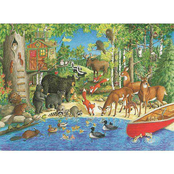 Пазл «Лесные жители» XXL 200 деталей, RavensburgerПазлы классические<br>Пазл «Лесные жители» XXL 200 деталей, Ravensburger (Равенсбургер) – яркий детский пазл, который понравится всем членам семьи.<br>Собрав пазл «Лесные жители» ребенок получит замечательную картинку с изображением очаровательных животных - обитателей леса. Пазл состоит из 200 качественных картонных деталей, которые не ломаются, не подвергаются деформации при сборке. Каждая деталь имеет свою форму и подходит только на свое место. Элементы пазла идеально соединяются друг с другом, не отслаиваются с течением времени. Матовая поверхность исключает отблески. Пазлы Ravensburger (Равенсбургер)- это высочайшее качество картона и полиграфии. Пазлы - замечательная развивающая игра для детей. Собирание пазла развивает у ребенка мелкую моторику рук, тренирует наблюдательность, логическое мышление, знакомит с окружающим миром, с цветом и разнообразными формами, учит усидчивости и терпению, аккуратности и вниманию.<br><br>Дополнительная информация:<br><br>- Количество деталей: 200 шт.<br>- Размер картинки: 49 х 36 см.<br>- Материал: картон<br>- Размер упаковки: 34 х 23 х 4 см.<br>- Вес: 571 гр.<br><br>Пазл «Лесные жители» XXL 200 деталей, Ravensburger (Равенсбургер) можно купить в нашем интернет-магазине.<br>Ширина мм: 340; Глубина мм: 230; Высота мм: 40; Вес г: 571; Возраст от месяцев: 96; Возраст до месяцев: 168; Пол: Унисекс; Возраст: Детский; Количество деталей: 200; SKU: 4214566;
