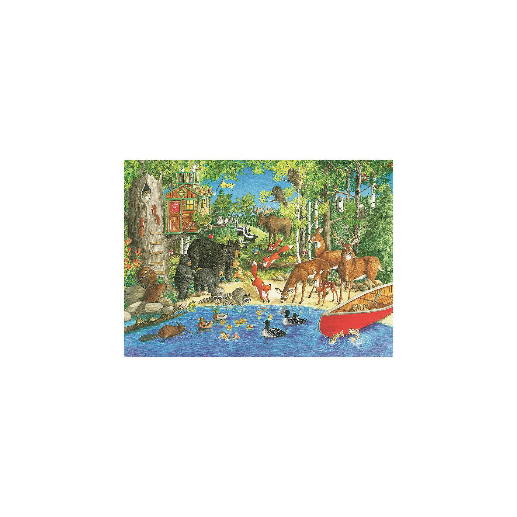 Пазл «Лесные жители» XXL 200 деталей, RavensburgerПазлы до 200 деталей<br>Пазл «Лесные жители» XXL 200 деталей, Ravensburger (Равенсбургер) – яркий детский пазл, который понравится всем членам семьи.<br>Собрав пазл «Лесные жители» ребенок получит замечательную картинку с изображением очаровательных животных - обитателей леса. Пазл состоит из 200 качественных картонных деталей, которые не ломаются, не подвергаются деформации при сборке. Каждая деталь имеет свою форму и подходит только на свое место. Элементы пазла идеально соединяются друг с другом, не отслаиваются с течением времени. Матовая поверхность исключает отблески. Пазлы Ravensburger (Равенсбургер)- это высочайшее качество картона и полиграфии. Пазлы - замечательная развивающая игра для детей. Собирание пазла развивает у ребенка мелкую моторику рук, тренирует наблюдательность, логическое мышление, знакомит с окружающим миром, с цветом и разнообразными формами, учит усидчивости и терпению, аккуратности и вниманию.<br><br>Дополнительная информация:<br><br>- Количество деталей: 200 шт.<br>- Размер картинки: 49 х 36 см.<br>- Материал: картон<br>- Размер упаковки: 34 х 23 х 4 см.<br>- Вес: 571 гр.<br><br>Пазл «Лесные жители» XXL 200 деталей, Ravensburger (Равенсбургер) можно купить в нашем интернет-магазине.<br><br>Ширина мм: 340<br>Глубина мм: 230<br>Высота мм: 40<br>Вес г: 571<br>Возраст от месяцев: 96<br>Возраст до месяцев: 168<br>Пол: Унисекс<br>Возраст: Детский<br>Количество деталей: 200<br>SKU: 4214566