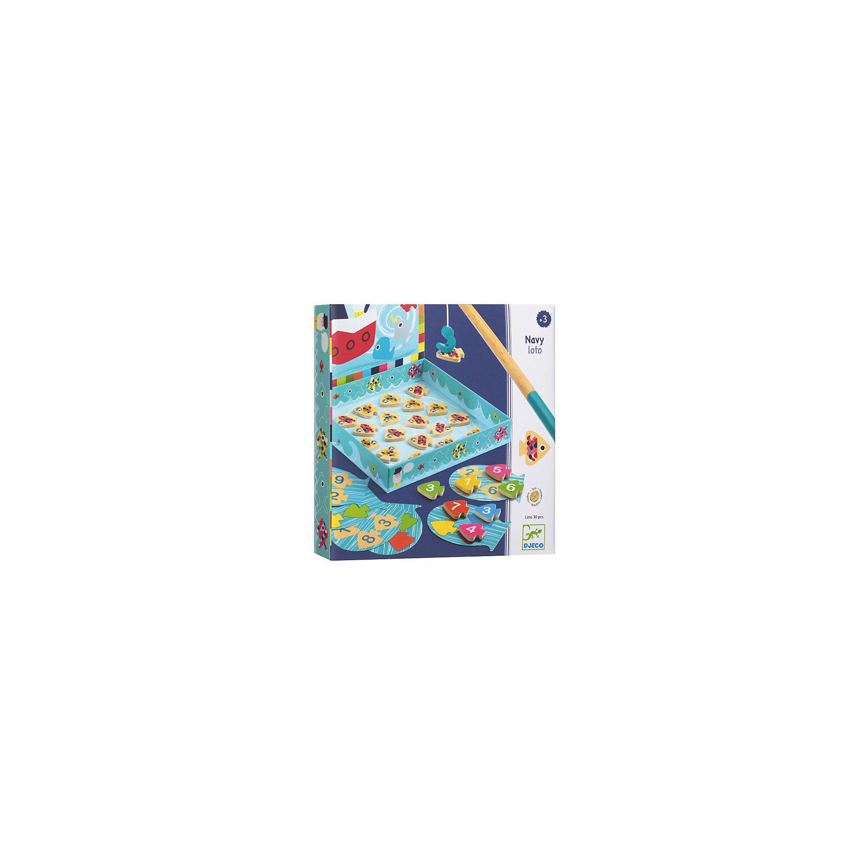 DJECO Настольная игра Морское лото, DJECO кроссовки лото купить в донецке