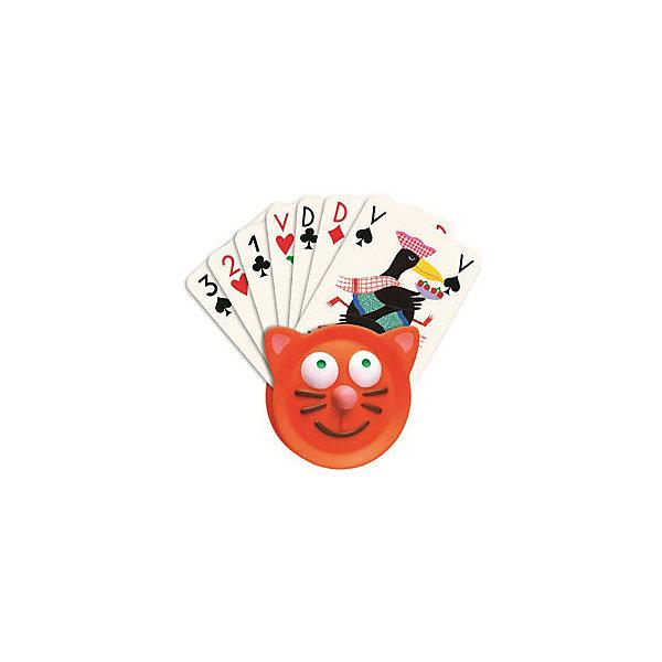 Держатель для карт, DJECOКарточные настольные игры<br>Держатель для карт, Djeco (Джеко) - красочный практичный аксессуар, который отличной подойдет для множества карточных игр. Он будет особенно удобен для малышей, которым еще трудно держать целый веер карт, сортировать их и при этом не давать подглядывать соперникам. Держатель выполнен в виде забавной мордочки котенка с отверстием сверху для колоды карт.<br><br>Дополнительная информация:<br><br>- Материал: пластик.<br>- Размер: 9 х 9 см.<br>- Вес: 30 гр. <br><br>Держатель для карт, Djeco (Джеко), можно ,купить в нашем интернет-магазине.<br>Ширина мм: 90; Глубина мм: 280; Высота мм: 10; Вес г: 70; Возраст от месяцев: 48; Возраст до месяцев: 1188; Пол: Унисекс; Возраст: Детский; SKU: 4215017;