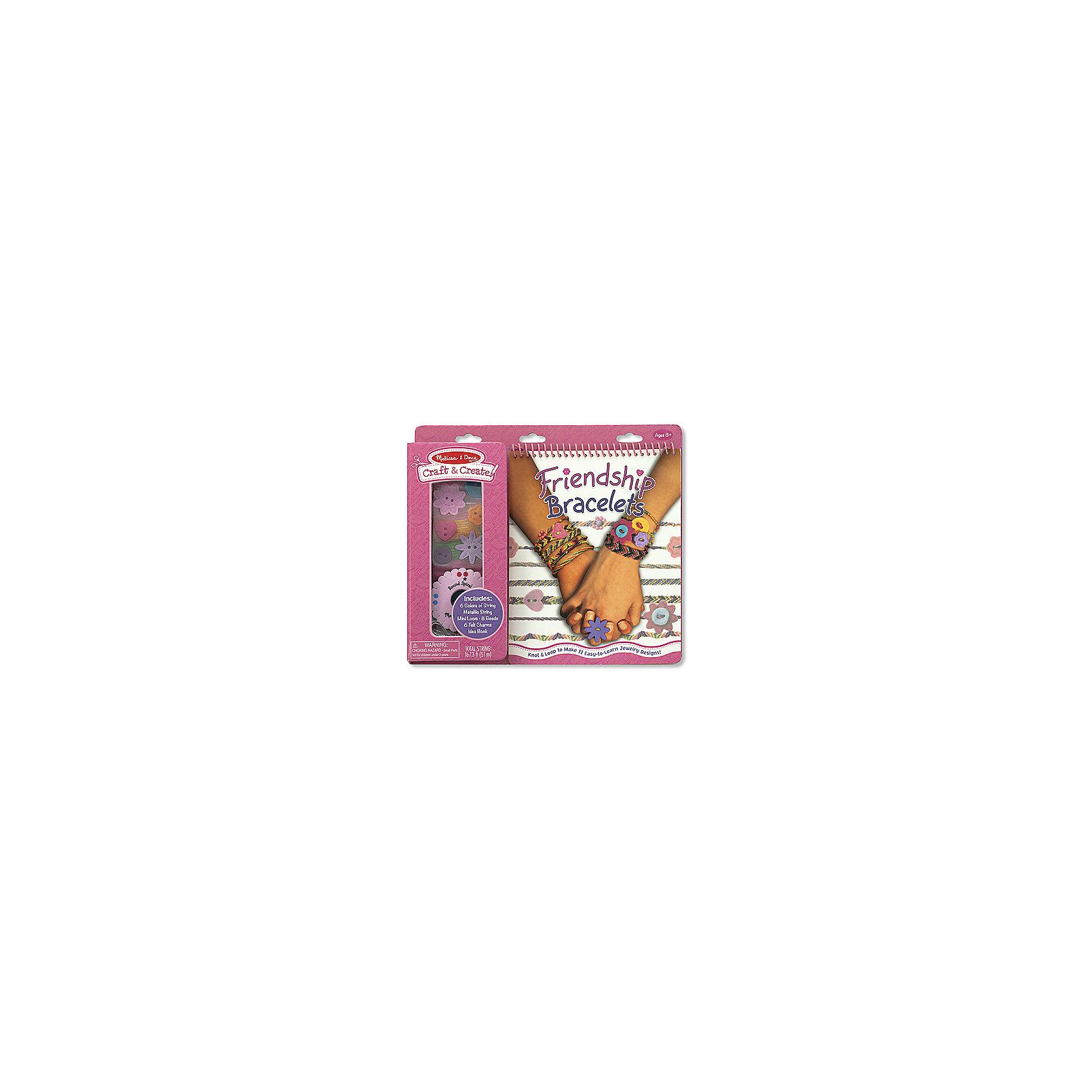 Набор для создания браслетовС помощью этого Набора для создания браслетов Ваш ребенок сможет сплести более 10 оригинальных браслетов-феничек. Создайте свой браслет дружбы для себя и подружек одним из 11 описанных в книжке-инструкции способов!<br><br>Комплектация: 6 цветных мотков ниток, 1 моток серебристой нитки, 8 бусин, тряпичные пуговицы, диск для плетения, книжка-инструкция<br><br>Дополнительная информация:<br>-Размер упаковки: 26х3х23 см<br>-Материалы: дерево, пластик<br>-Вес в упаковке: 227 г<br><br>Замечательный набор станет прекрасным подарком для девочки, ведь она сможет проявить свои творческие способности и создать более 10 уникальных браслетов для себя и своих подружек!<br><br>Набор для создания браслетов можно купить в нашем магазине.<br><br>Ширина мм: 260<br>Глубина мм: 30<br>Высота мм: 230<br>Вес г: 227<br>Возраст от месяцев: 96<br>Возраст до месяцев: 144<br>Пол: Женский<br>Возраст: Детский<br>SKU: 4216556