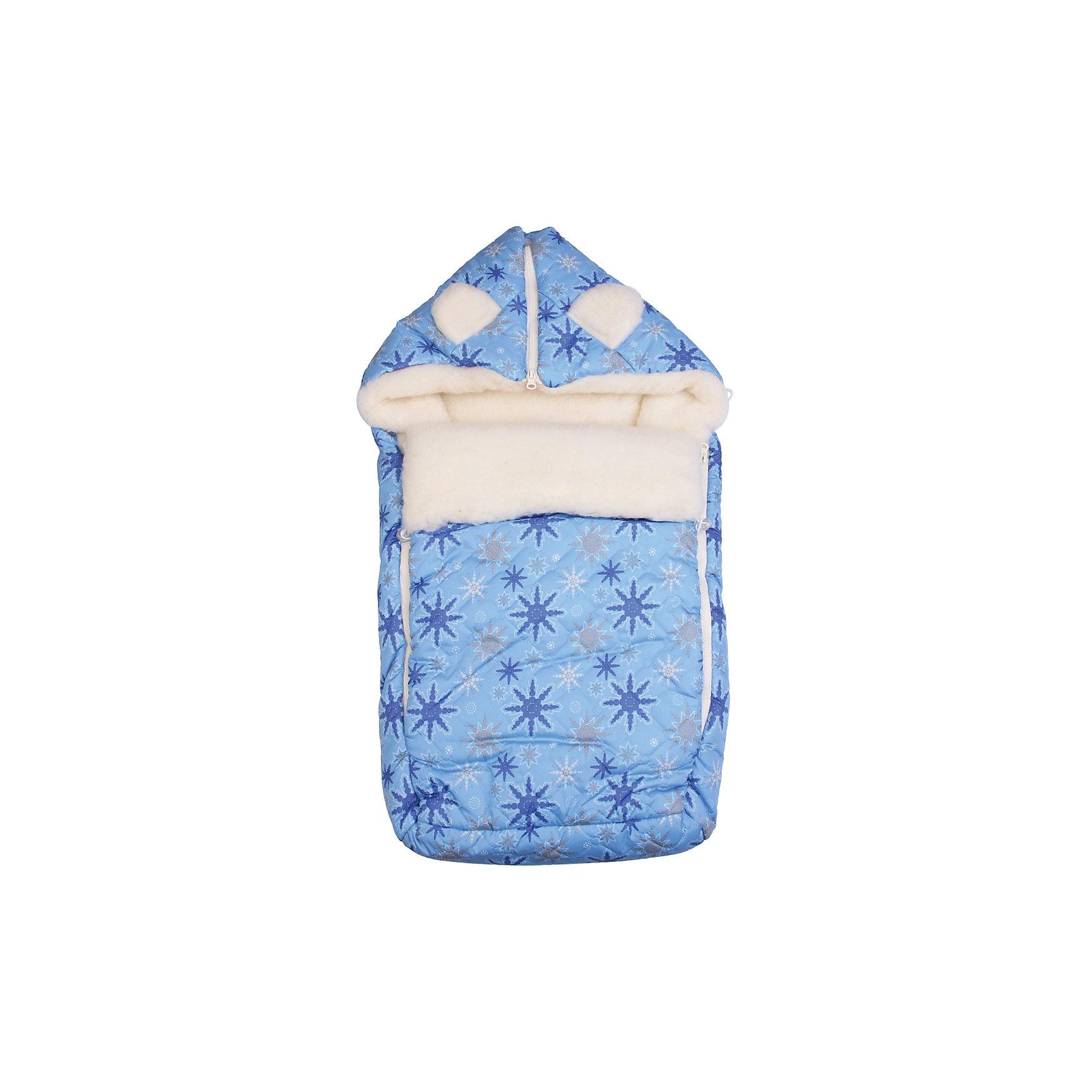 Конверт на овчине, Leader Kids, голубой/синийТеплый конверт выполнен из высококачественных гипоаллергенных материалов, прекрасно сохраняет тепло и пропускает воздух, создавая комфортный микроклимат в любую погоду. Практичный конверт застегивается на молнию и имеет капюшон.<br><br>Дополнительная информация:<br><br>- Материал: утеплитель - синтепон; подкладка - шерсть; наружный материал - полиэстер.<br>- Размер: 80х45 см.<br>- Сезон: осень, зима.<br>- Тип застежки: молния.<br>- Декоративные элементы: принт. <br>- Цвет: голубой. <br><br>Конверт на овчине , Leader Kids, голубой, можно купить в нашем магазине.<br><br>Ширина мм: 60<br>Глубина мм: 350<br>Высота мм: 550<br>Вес г: 500<br>Цвет: голубой/синий<br>Возраст от месяцев: 0<br>Возраст до месяцев: 6<br>Пол: Мужской<br>Возраст: Детский<br>SKU: 4217310