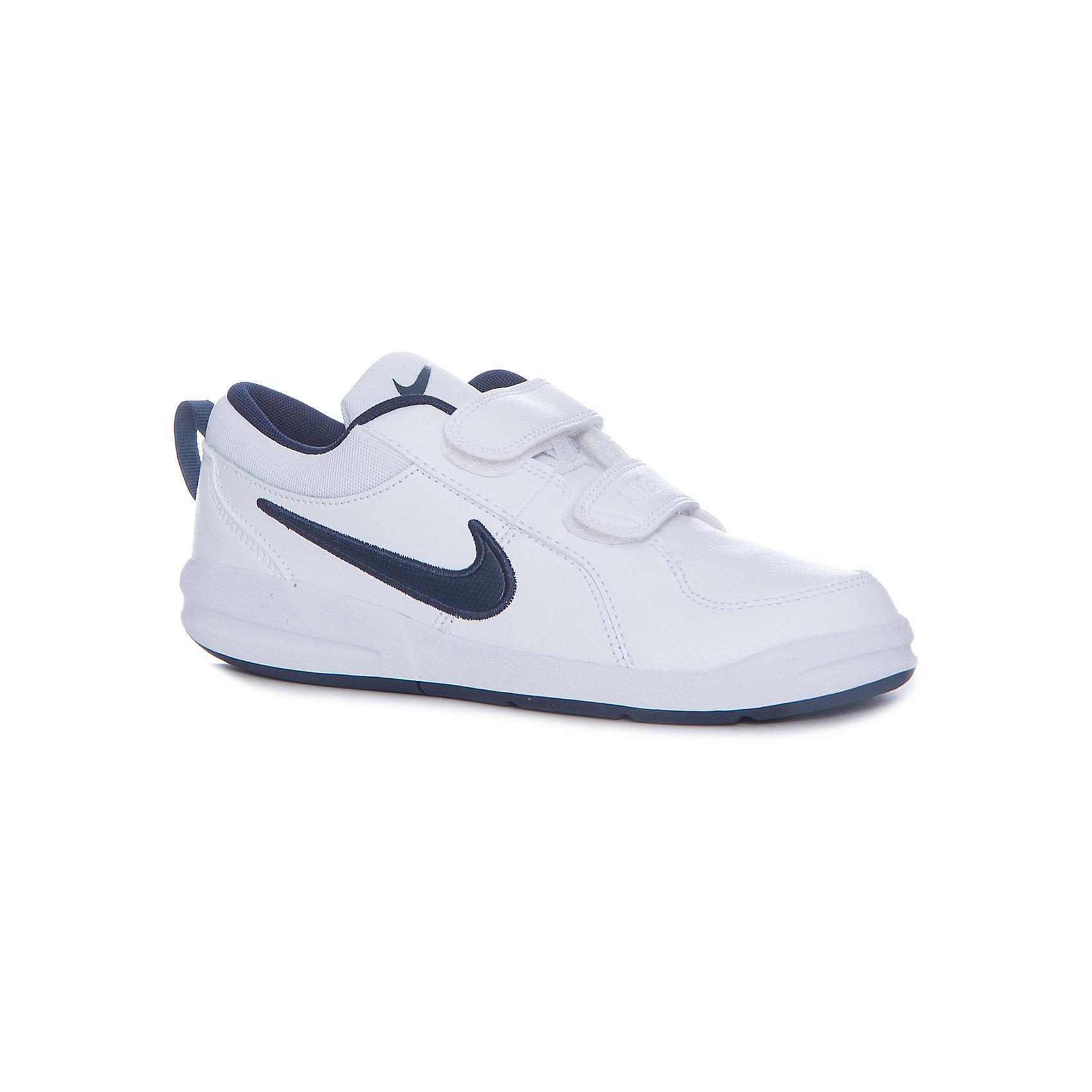 Кроссовки Nike Pico 4 (PSV) для мальчикаКроссовки<br>Характеристики товара:<br><br>• цвет: белый<br>• внешний материал: 48% натуральная кожа, 43% искусственная кожа, 9% текстиль<br>• внутренний материал: текстиль<br>• стелька: текстиль<br>• подошва: резина<br>• высота подошвы: 1,5 см<br>• вставка в подошве для мягкой амортизации<br>• тип застежки: два ремешка с липучками<br>• сезон: демисезон<br>• температурный режим: от +10°С до +20°С<br>• устойчивая подошва<br>• защищенный мыс и пятка<br>• износостойкий материал<br>• страна бренда: США<br>• страна изготовитель: Индонезия<br><br>Кроссовки на липучках для мальчика PICO 4 (PSV) от популярной марки NIKE (Найк) - прекрасный вариант для повседневной носки или же активного отдыха. Рифленая подошва кроссовок обеспечивает прекрасное сцепление с поверхностью. Застежка на липучке позволяет быстро надевать и снимать обувь. Модель выполнена практичной расцветки дополнена фирменным логотипом. <br><br>Кроссовки NIKE (Найк) можно купить в нашем интернет-магазине.<br><br>Ширина мм: 250<br>Глубина мм: 150<br>Высота мм: 150<br>Вес г: 250<br>Цвет: белый<br>Возраст от месяцев: 144<br>Возраст до месяцев: 156<br>Пол: Мужской<br>Возраст: Детский<br>Размер: 35,27,27.5,30,29,28.5,30.5,26.5,28,31,31.5,32,33.5,34,33<br>SKU: 4217414