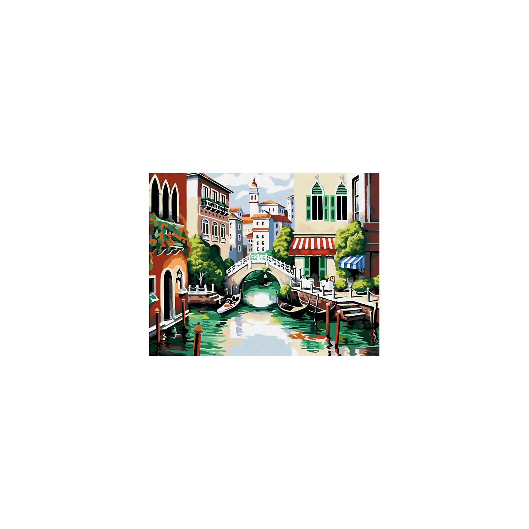 Картина по номерам ВенецияЭта раскраска станет отличным подарком ребенку. С ее помощью так легко нарисовать потрясающую картину, которую можно повесить на стену или подарить. Для этого необходимо закрашивать пронумерованные области рисунка нужными цветами.<br><br>Если ребенок любит рисовать, то раскраска по номерам ему понравится. Даже если нет должных навыков, попробовать себя в роли художника можно с этим набором. Раскрашивая картину по номерам, вы получите настоящее удовольствие от этого творческого процесса. Места для закрашивания отмечены номерами и выделены в виде расчерченных зон. <br>В наборе есть все самое необходимое: холст, кисти и прочие принадлежности юного художника. Акриловые краски абсолютно безвредны, они не содержат растворителей. С этой раскраской ребенок будет не только интересно проводить время, но и развивать: творческое мышление, усидчивость.&#13;<br><br>Дополнительная информация:<br><br><br>Дополнительная информация:<br><br>В наборе: холст на подрамнике с рисунком, пробный лист со схемой, набор быстросохнущих акриловых красок (24 цвета), кисти 3 шт., настенное крепление для готовой картины<br>Размер: 40х50 см<br>Раскрыть творческий потенциал ребенка с этой раскраской будет легко. Краски в этом наборе разлиты по пронумерованным баночкам, осталось только взять в руки кисточку и начать рисовать. <br><br>Картину по номерам Венеция можно купить в нашем магазине.<br><br>Ширина мм: 450<br>Глубина мм: 30<br>Высота мм: 550<br>Вес г: 900<br>Возраст от месяцев: 72<br>Возраст до месяцев: 180<br>Пол: Унисекс<br>Возраст: Детский<br>SKU: 4217936