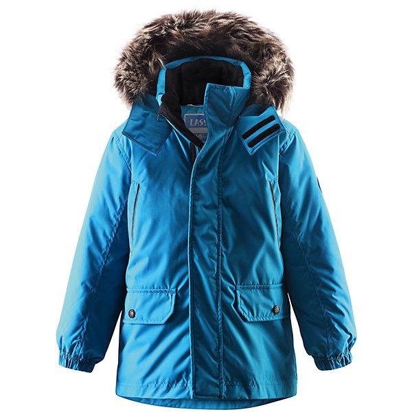Куртка для мальчика LASSIE by ReimaВерхняя одежда<br>Куртка для мальчика от финской марки LASSIE by Reima (Ласси от Рейма).<br>Зимняя удлиненная куртка-парка( длина сзади -66 см. при росте 122 см.). Утеплитель 180 гр.Отстегивающийся капюшон со съемной отделкой из искусственного меха на капюшоне. Карманы на липучках. <br><br>Дополнительная информация:<br><br>Температурный режим -20<br>Состав: 100% полиэстер<br><br>Куртку для мальчика LASSIE by Reima (Ласси от Рейма) можно купить в нашем магазине.<br>Ширина мм: 356; Глубина мм: 10; Высота мм: 245; Вес г: 519; Цвет: голубой; Возраст от месяцев: 48; Возраст до месяцев: 60; Пол: Мужской; Возраст: Детский; Размер: 110,92,128,134,122,116,104,98,140; SKU: 4218675;