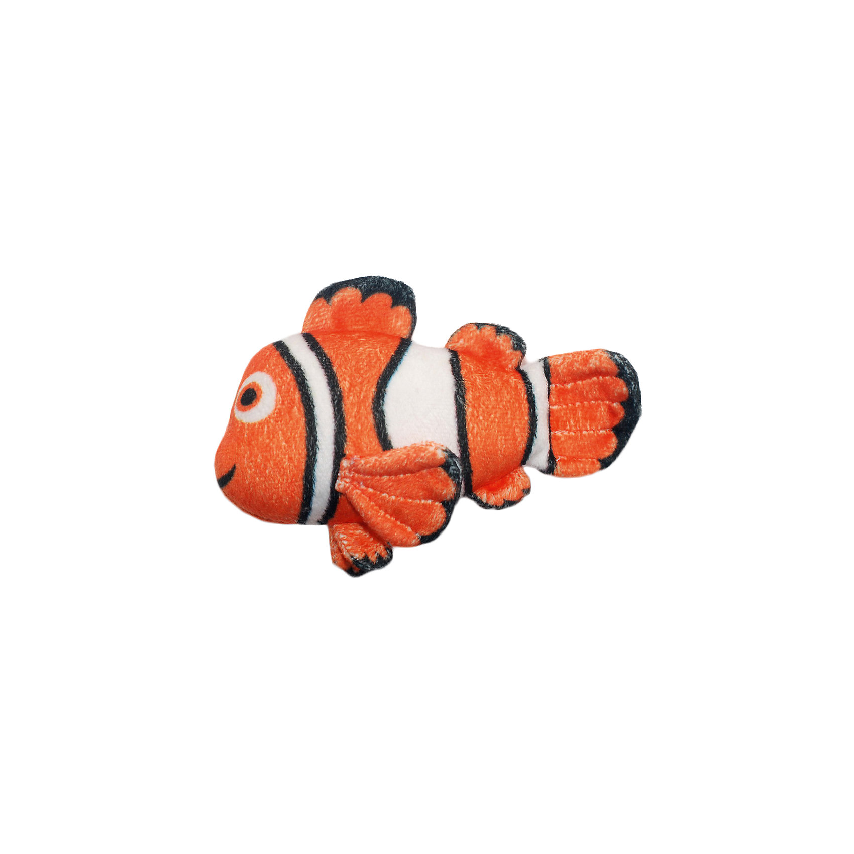 Игрушка для ванной Немо, Disney, 8 смОтважная рыбка Немо подарит много улыбок и радости малышам! Купание с любимым героем станет еще приятнее и интереснее. Игрушка выполнена из мягкого плюша, как только рыбка попадает в воду, она начинает расти, с большой мягкой игрушкой можно играть в течение недели. Постепенно Немо будет уменьшаться, но как только его снова искупаешь, он опять вырастет. <br><br>Дополнительная информация:<br><br>- Материал: плюш, полиуретан.<br>- Размер: 15х23 см.<br><br>Игрушку для ванной Немо, Disney (Дисней) можно купить в нашем магазине.<br><br>Ширина мм: 22<br>Глубина мм: 146<br>Высота мм: 230<br>Вес г: 45<br>Возраст от месяцев: 36<br>Возраст до месяцев: 72<br>Пол: Унисекс<br>Возраст: Детский<br>SKU: 4219368