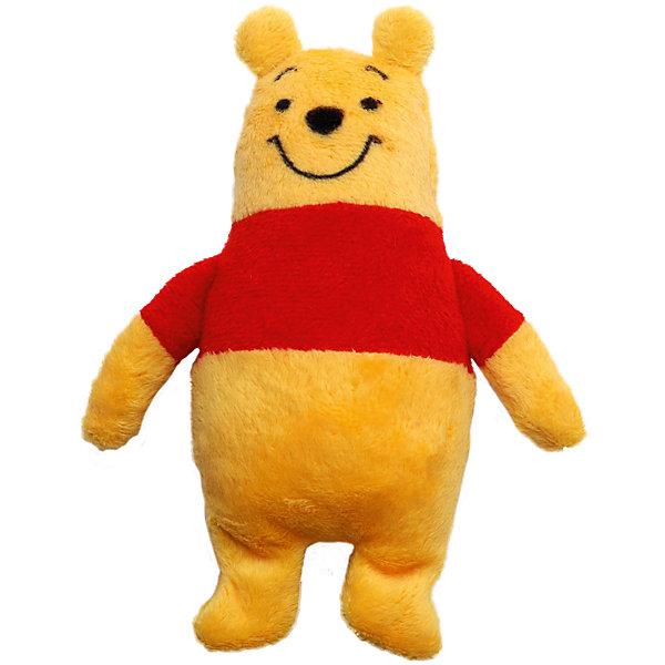 Игрушка для ванной Винни, Disney, 18 смМягкие игрушки из мультфильмов<br>Очаровательный медвежонок Винни подарит много улыбок и радости малышам! Купание с любимым героем станет еще приятнее и интереснее. Игрушка выполнена из мягкого плюша, как только медвежонок попадает в воду, он начинает расти, с большой мягкой игрушкой можно играть в течение недели. Постепенно Винни будет уменьшаться, но как только его снова искупаешь, он опять вырастет. <br><br>Дополнительная информация:<br><br>- Материал: плюш, полиуретан.<br>- Размер: 15х23 см.<br><br>Игрушку для ванной Винни, Disney (Дисней), можно купить в нашем магазине.<br><br>Ширина мм: 22<br>Глубина мм: 146<br>Высота мм: 230<br>Вес г: 45<br>Возраст от месяцев: 36<br>Возраст до месяцев: 72<br>Пол: Унисекс<br>Возраст: Детский<br>SKU: 4219371