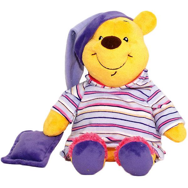 Мягкая игрушка Сонный Винни, Disney, 26 смМягкие игрушки из мультфильмов<br>Очаровательный медвежонок обязательно понравится всем малышам. С любимым героем приятно не только играть днем, но и засыпать вечером. Игрушка выполнена из высококачественных гипоаллергенных материалов, безопасных для детей. Мягкий Винни подарит вашему крохе много приятных и сладких снов!<br><br><br>Дополнительная информация:<br><br>- Материал: плюш, текстиль, полиэфирное волокно.<br>- Размер: 26 см.<br><br>Мягкую игрушку Сонный Винни, Disney (Дисней), можно купить в нашем магазине.<br><br>Ширина мм: 150<br>Глубина мм: 150<br>Высота мм: 260<br>Вес г: 320<br>Возраст от месяцев: 36<br>Возраст до месяцев: 72<br>Пол: Унисекс<br>Возраст: Детский<br>SKU: 4219372