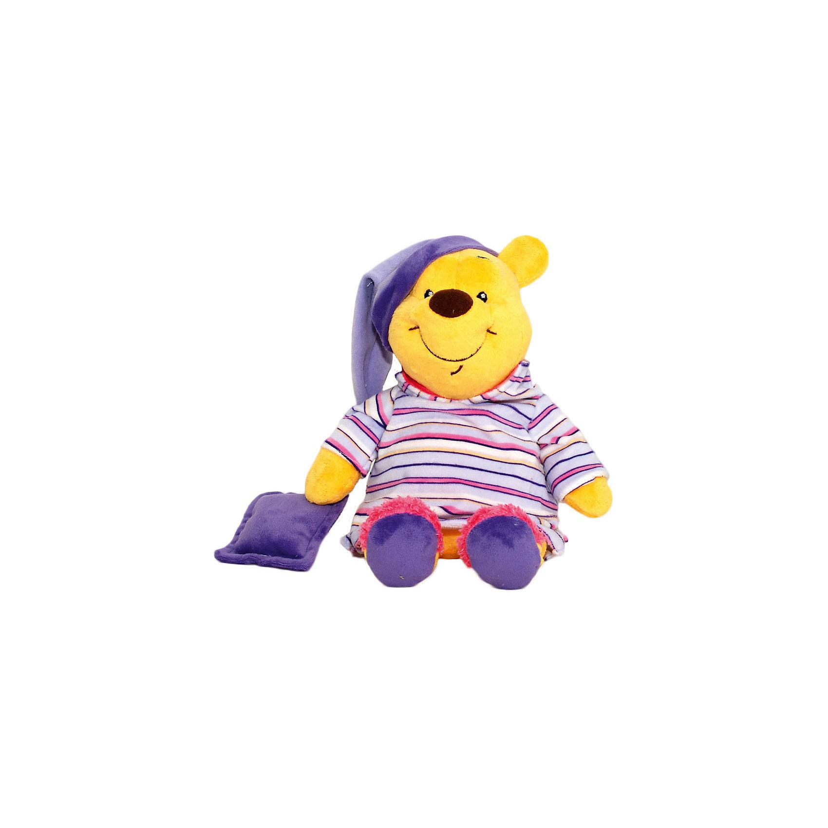 Мягкая игрушка Сонный Винни, Disney, 26 смМедвежата<br>Очаровательный медвежонок обязательно понравится всем малышам. С любимым героем приятно не только играть днем, но и засыпать вечером. Игрушка выполнена из высококачественных гипоаллергенных материалов, безопасных для детей. Мягкий Винни подарит вашему крохе много приятных и сладких снов!<br><br><br>Дополнительная информация:<br><br>- Материал: плюш, текстиль, полиэфирное волокно.<br>- Размер: 26 см.<br><br>Мягкую игрушку Сонный Винни, Disney (Дисней), можно купить в нашем магазине.<br><br>Ширина мм: 150<br>Глубина мм: 150<br>Высота мм: 260<br>Вес г: 320<br>Возраст от месяцев: 36<br>Возраст до месяцев: 72<br>Пол: Унисекс<br>Возраст: Детский<br>SKU: 4219372